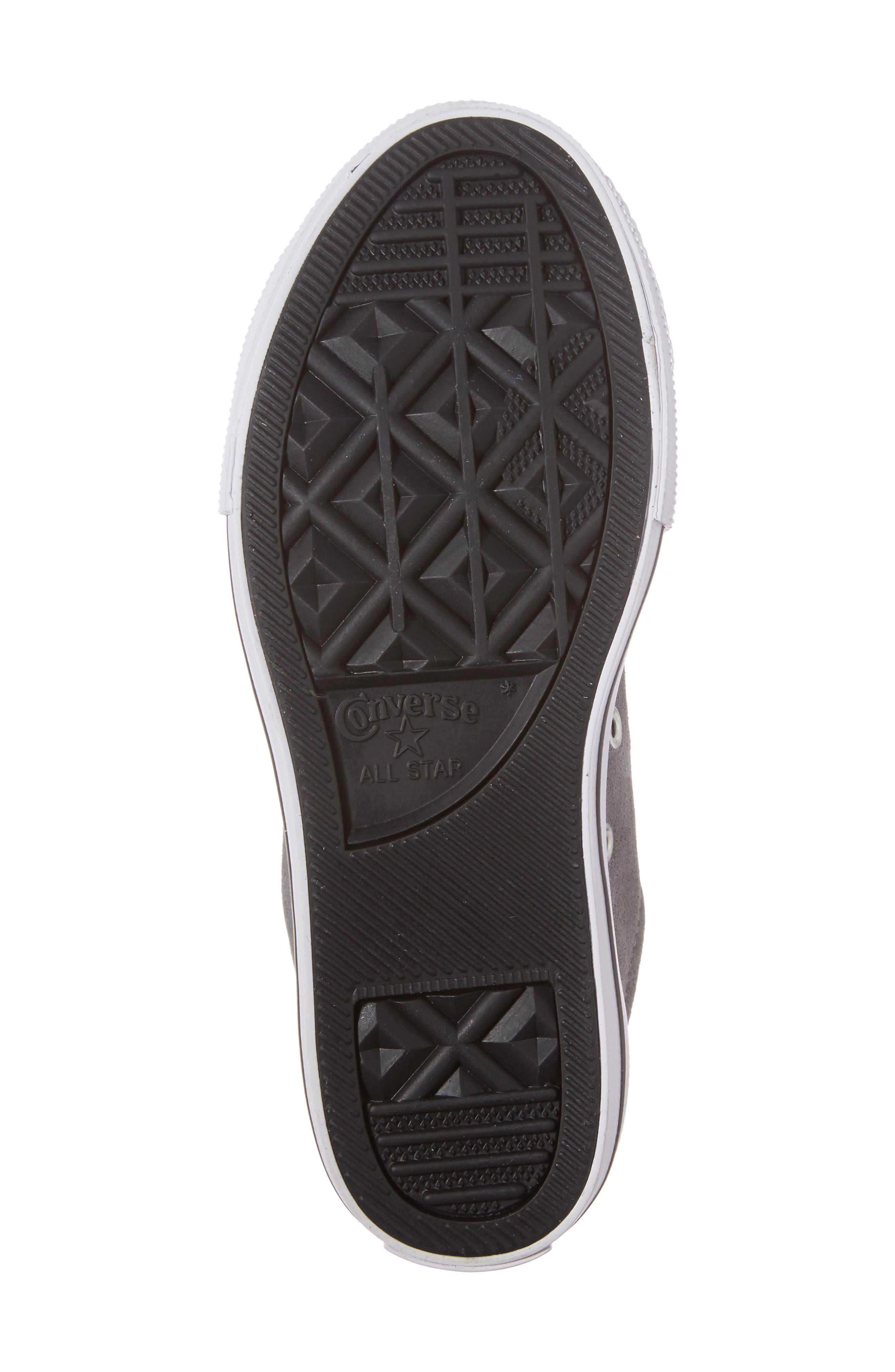 Chuck Taylor<sup>®</sup> All Star<sup>®</sup> Street Sneaker,                             Alternate thumbnail 6, color,                             Mason/ Black/ White
