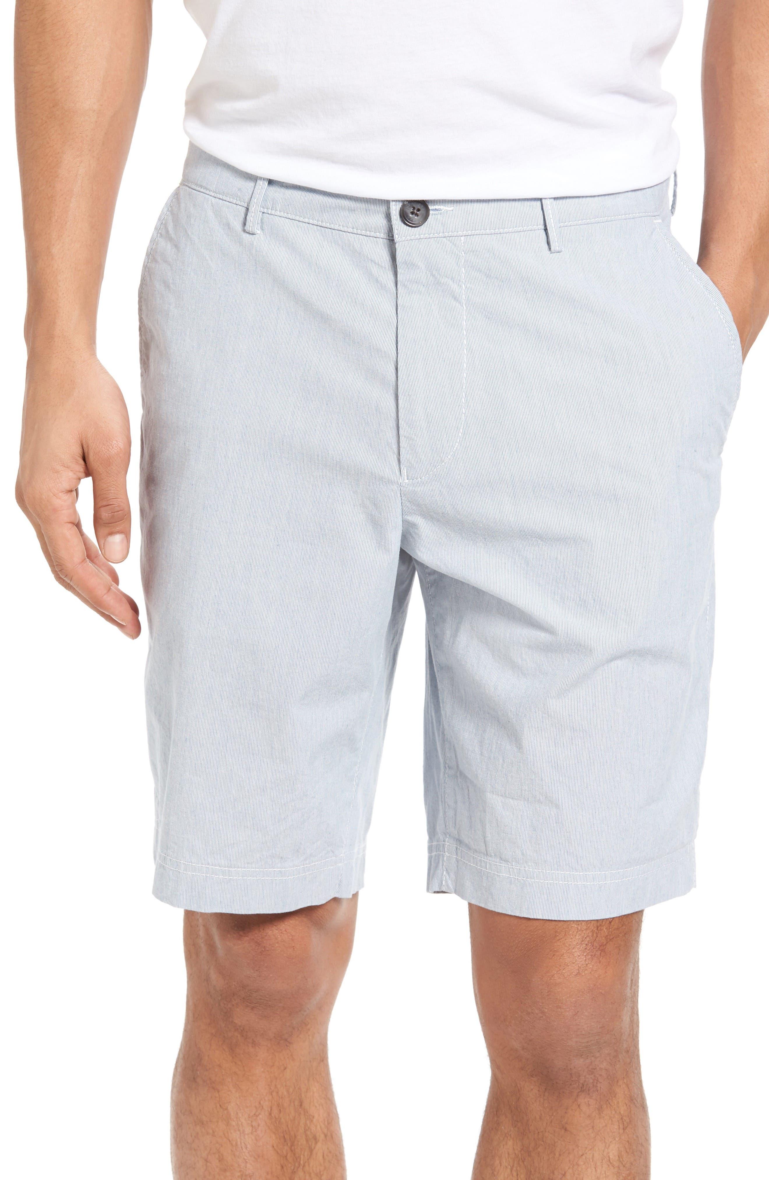 BOSS Crigan Fine Stripe Shorts