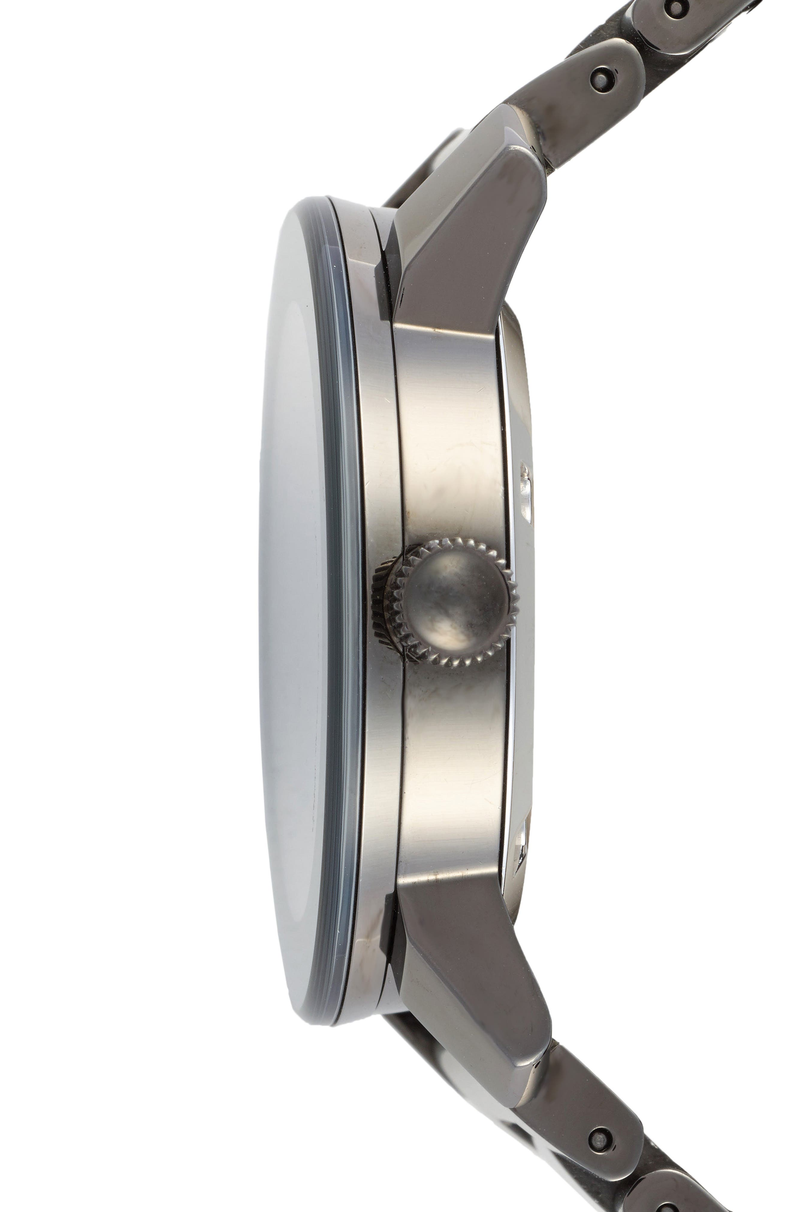 Alternate Image 3  - Movado 'Bold' Crystal Marker Bracelet Watch, 36mm