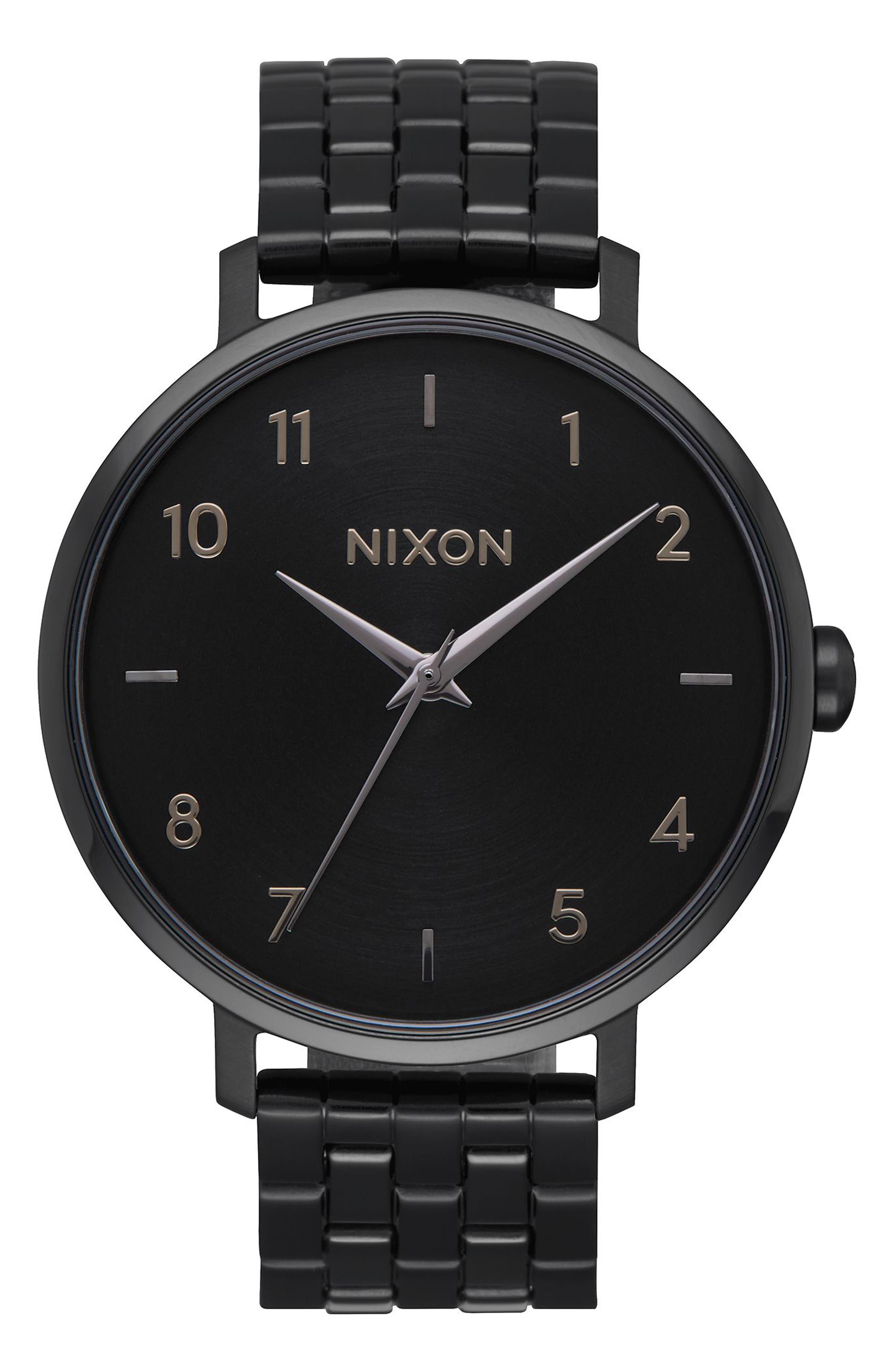 The Arrow Bracelet Watch, 38mm,                         Main,                         color, Black