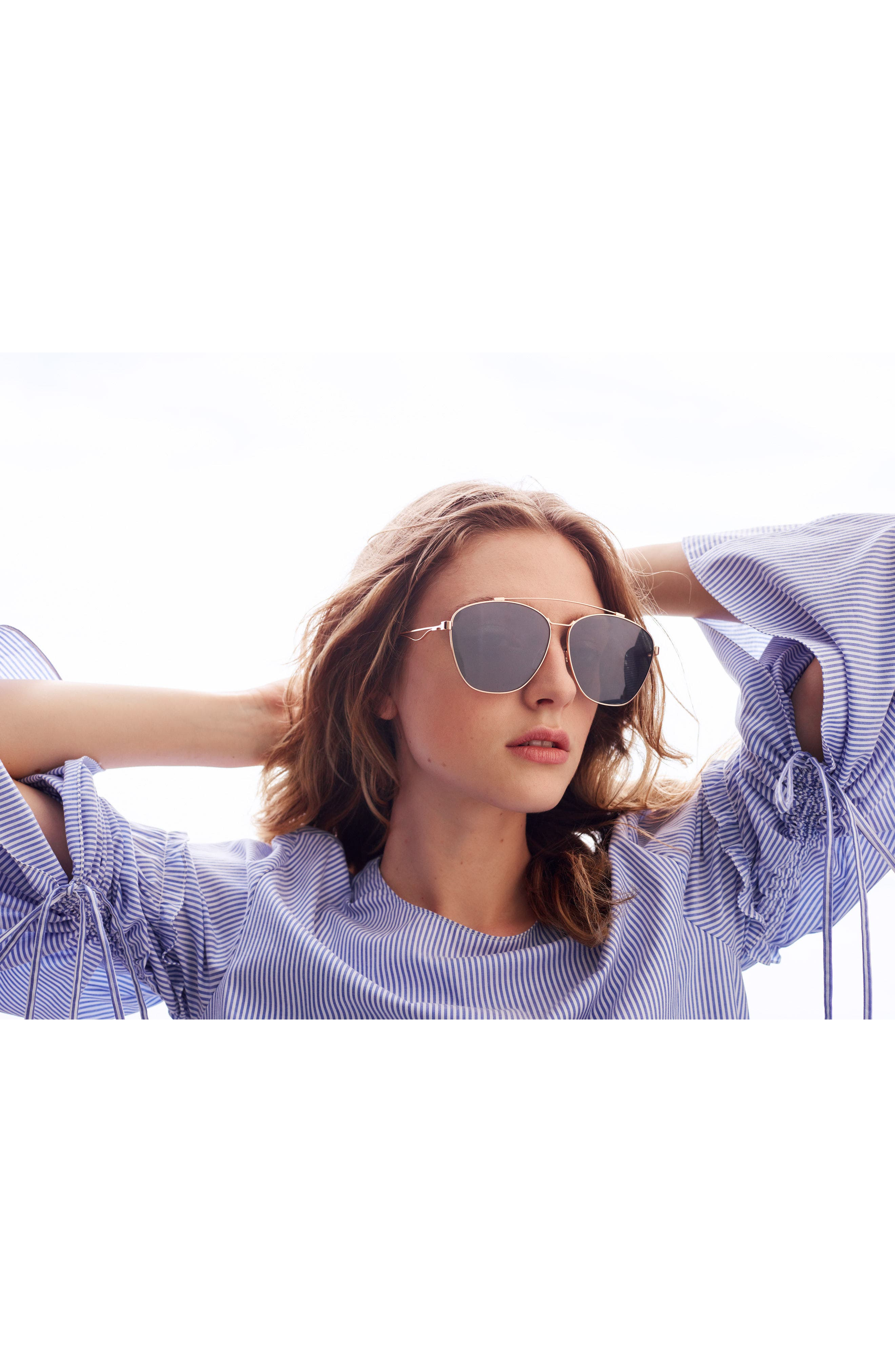 65mm Navigator Sunglasses,                             Alternate thumbnail 2, color,