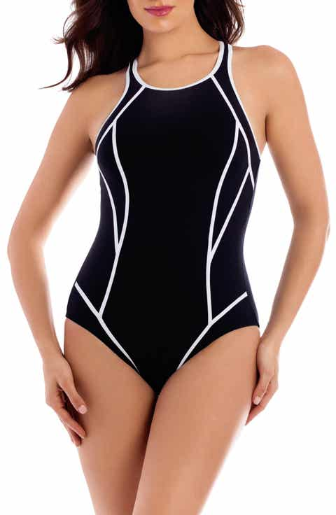 Miraclesuit® Line Up One-Piece Swimsuit