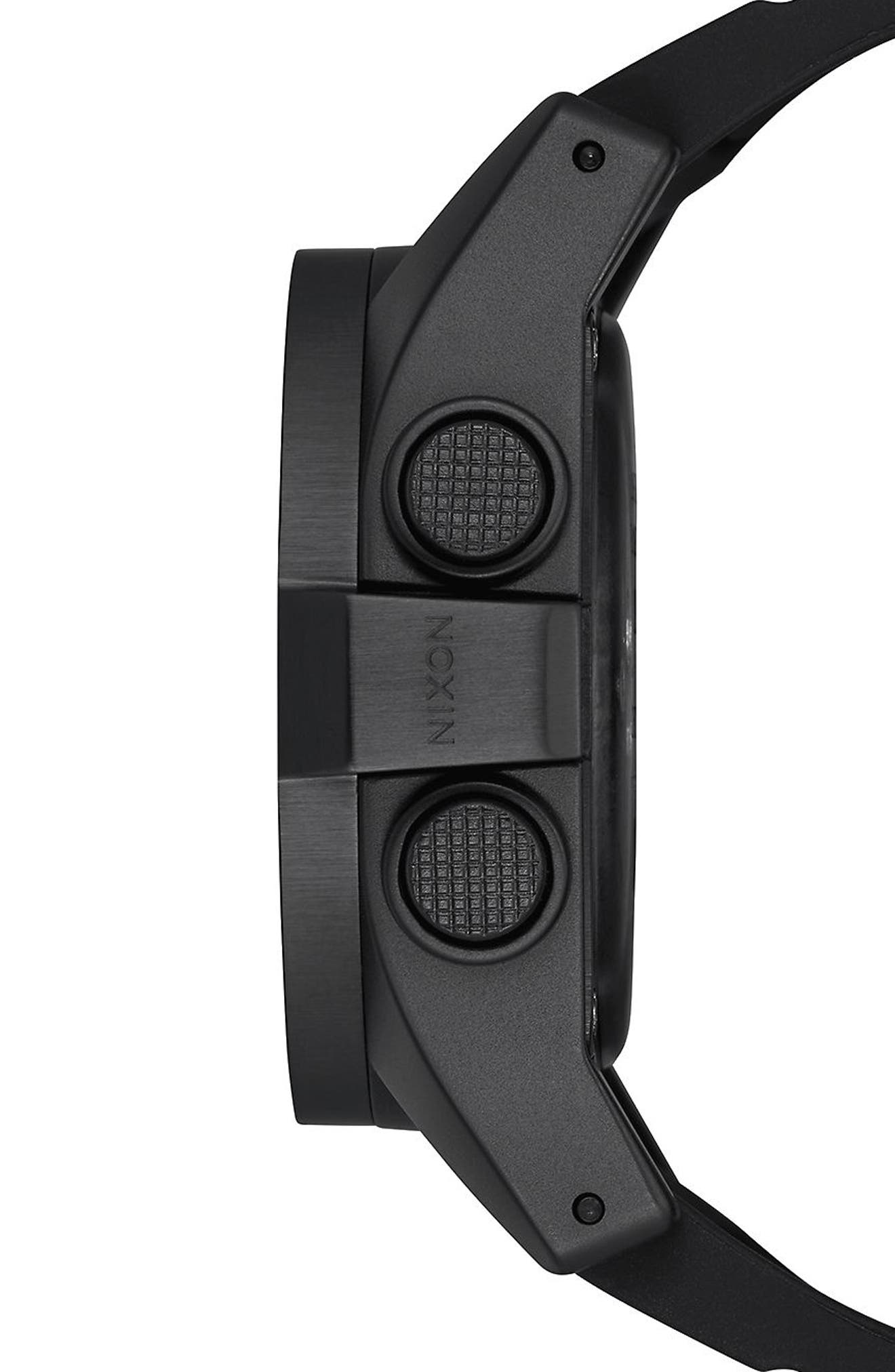 Alternate Image 3  - Nixon The Unit Digital Silicone Strap Watch, 44mm