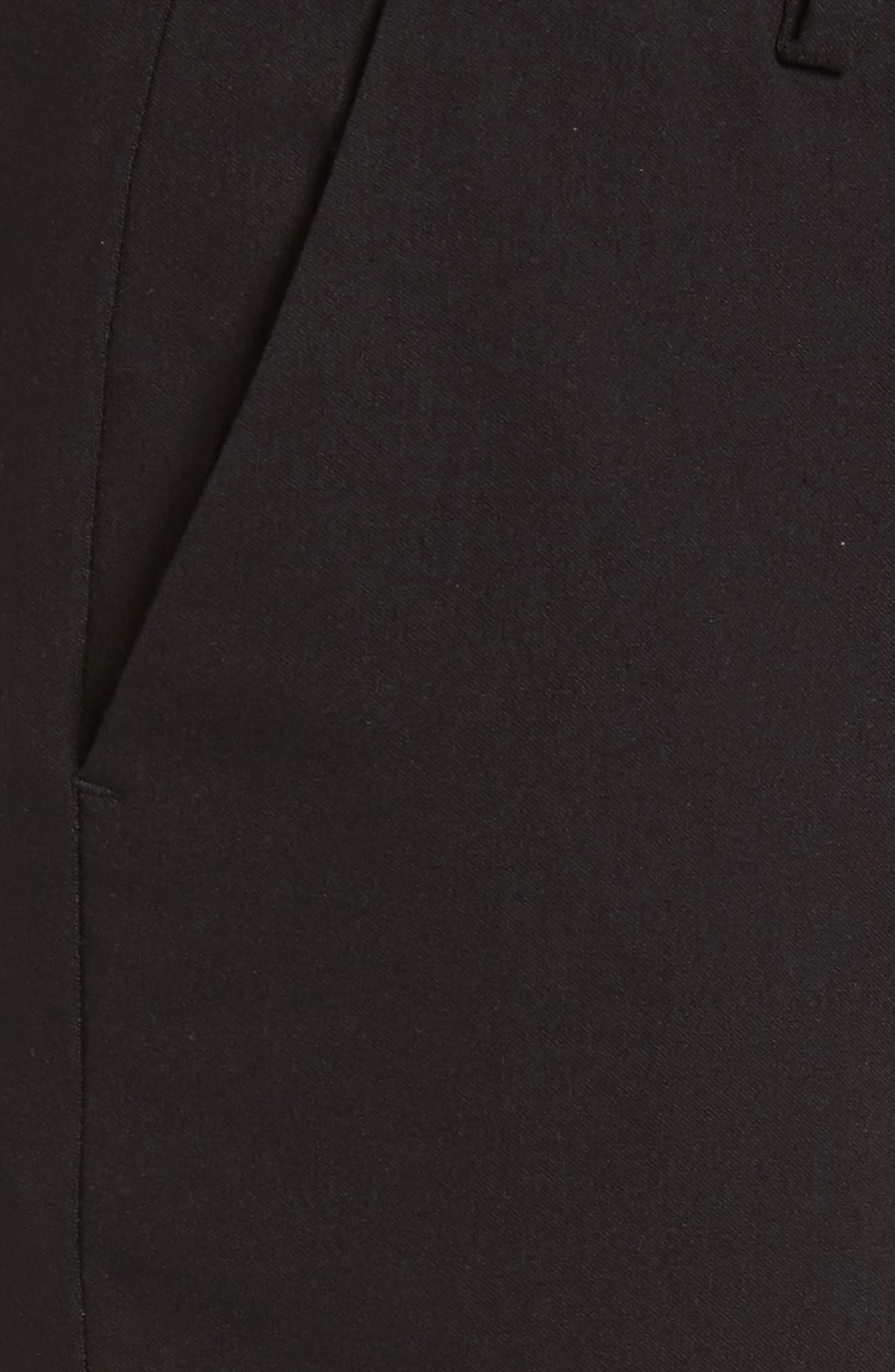 Miranda Slim Ankle Pants,                             Alternate thumbnail 5, color,                             Black
