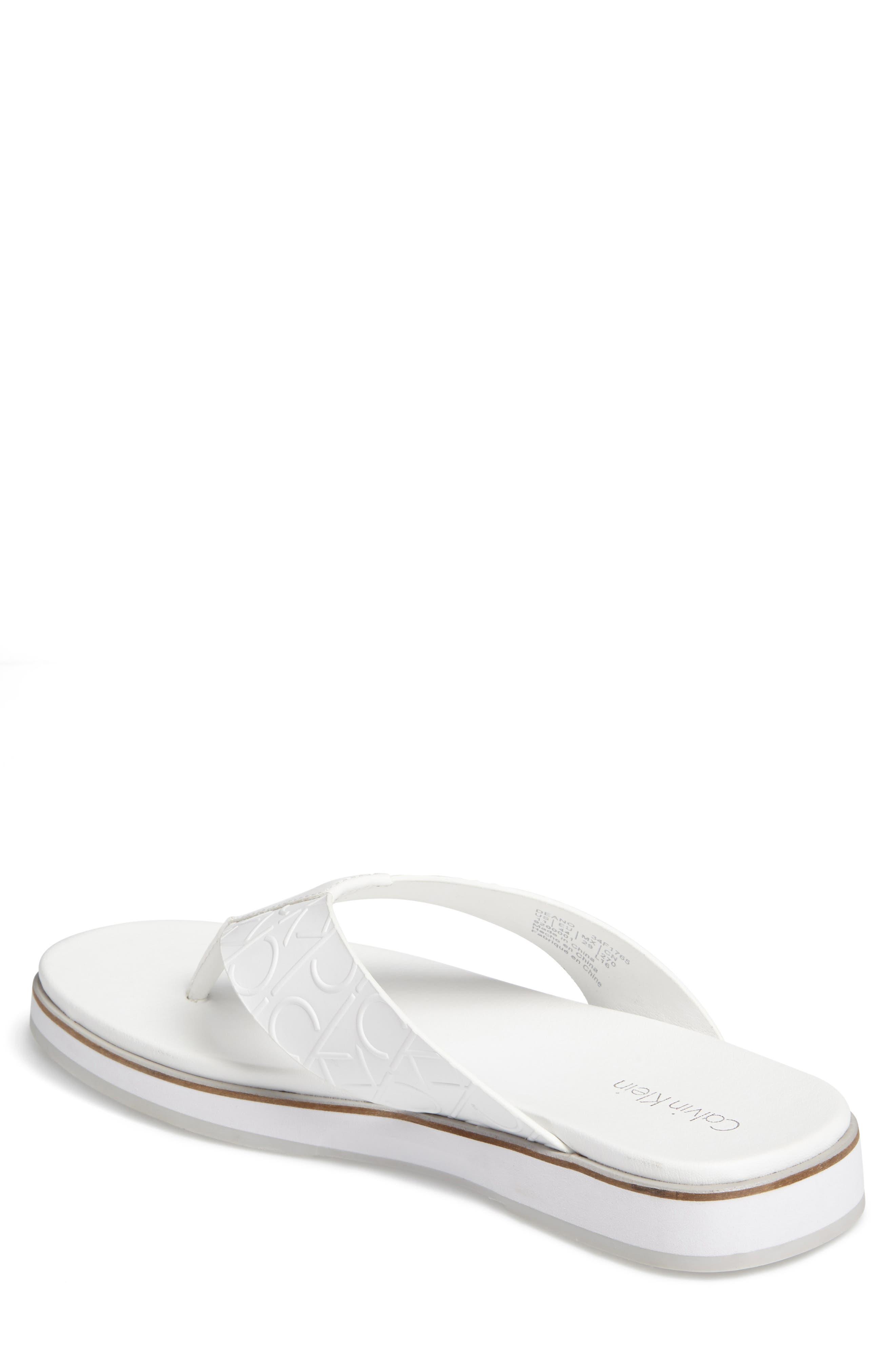 Alternate Image 2  - Calvin Klein Deano Flip Flop (Men)
