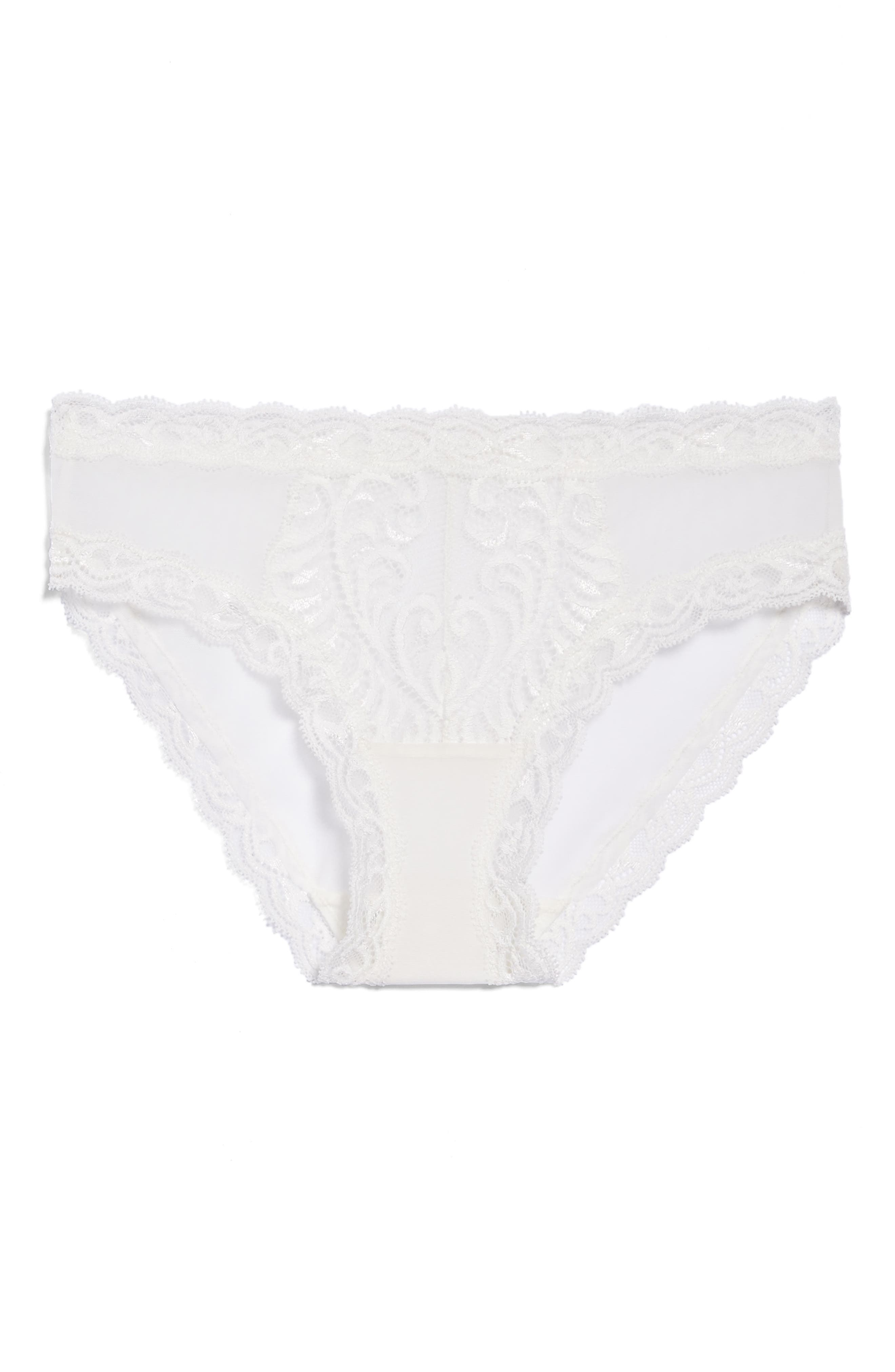 Feathers Hipster Briefs,                             Alternate thumbnail 8, color,                             Warm White