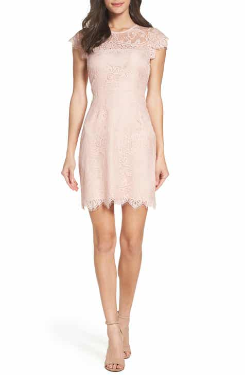 d5e0bfc4d5c BB Dakota Jayce Lace Sheath Cocktail Dress