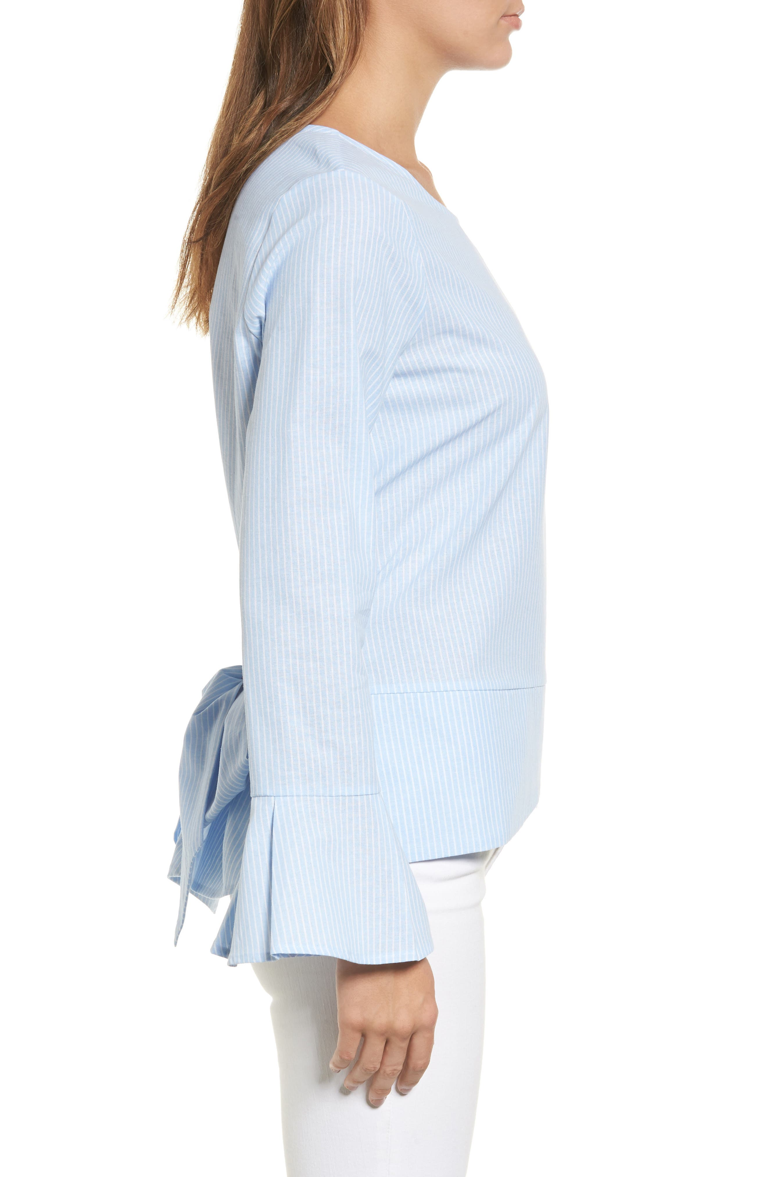 Alternate Image 3  - Pleione Tie Back Wrap Blouse