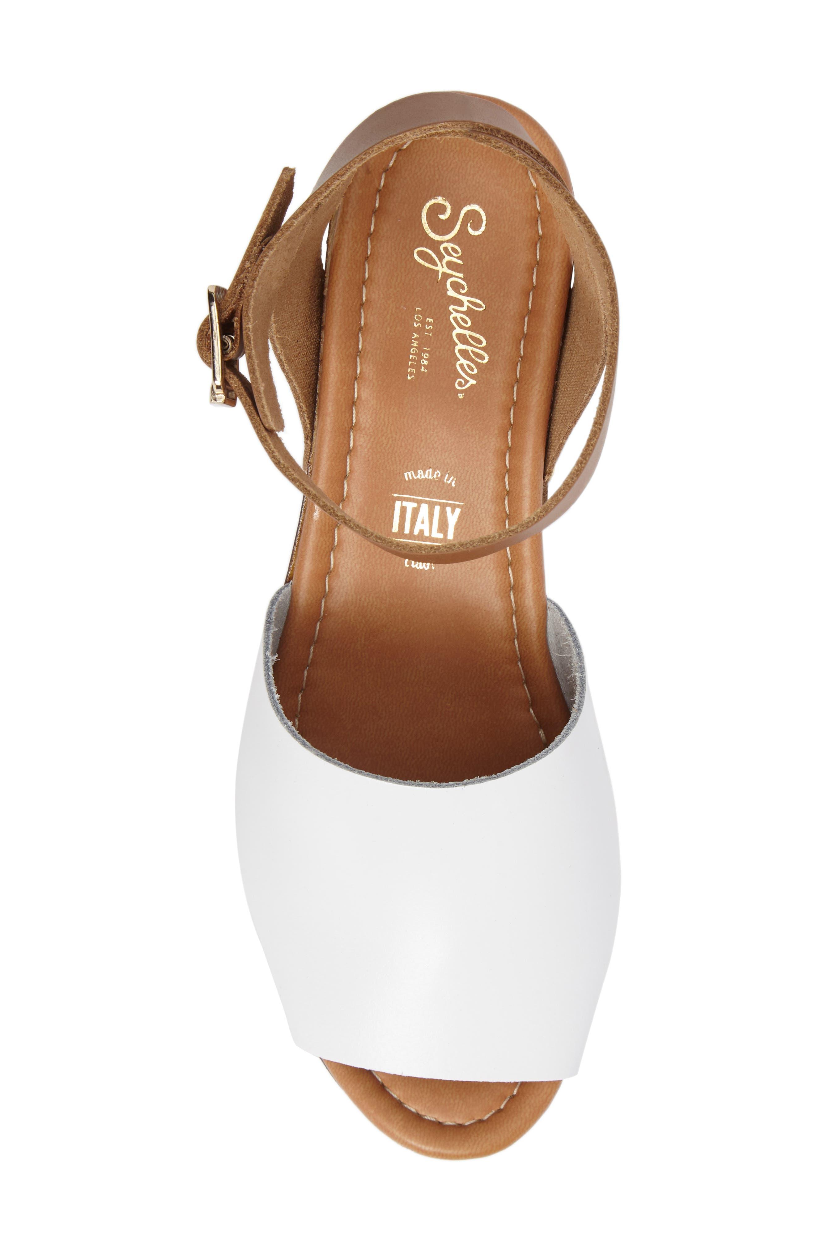 Alternate Image 5  - Seychelles Platform Wedge Sandal (Women)