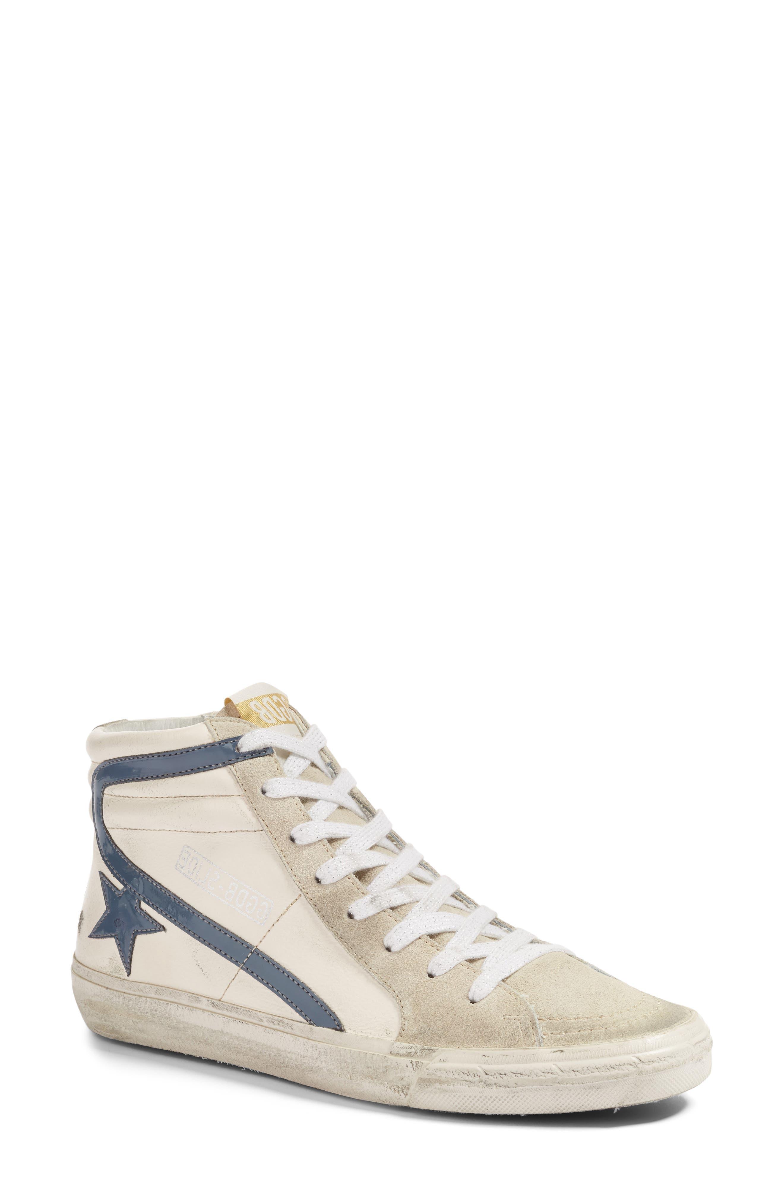 Golden Goose Slide Mid Top Sneaker (Women)