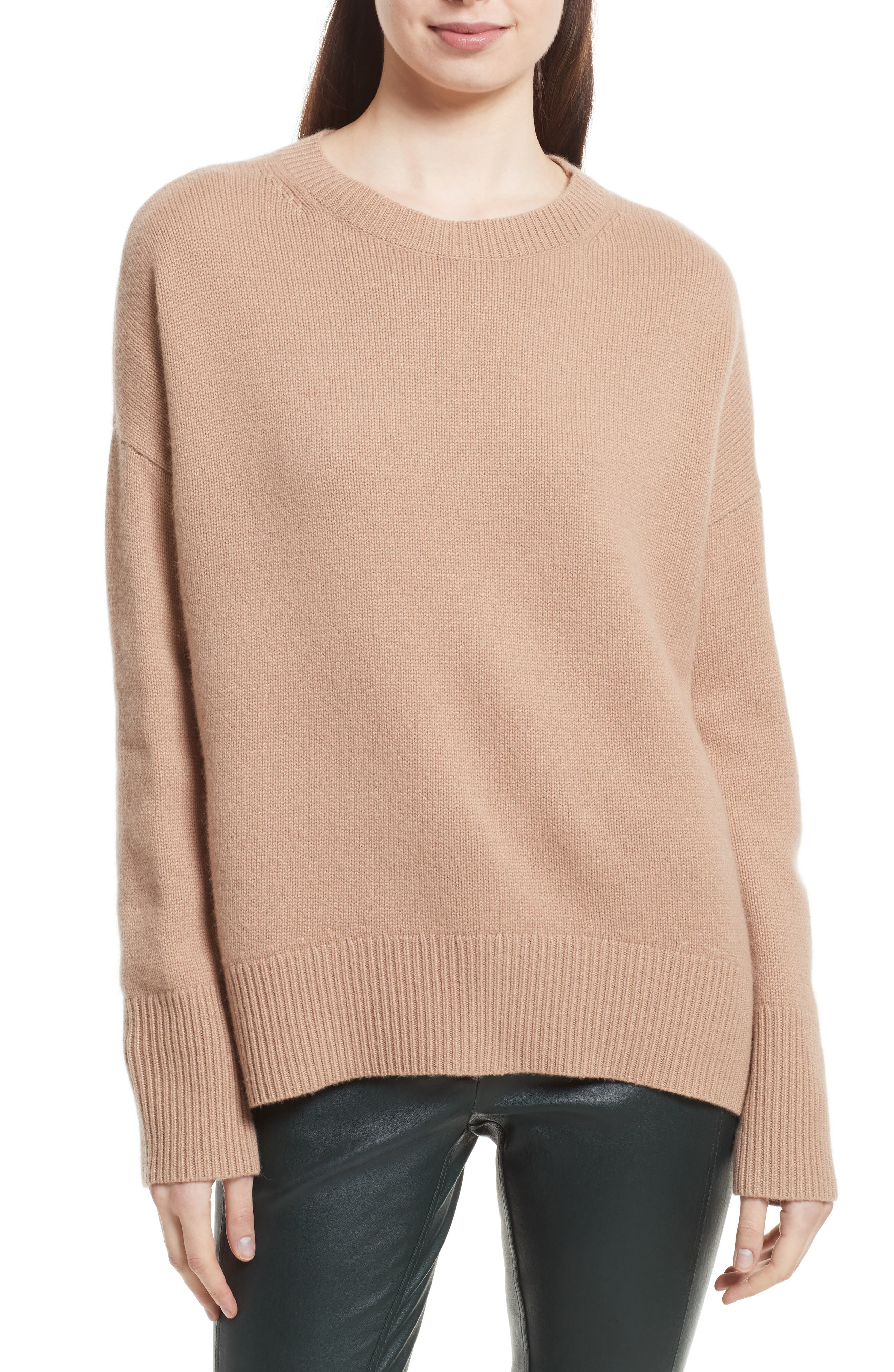 Women's Brown Pullover Cashmere Sweaters | Nordstrom