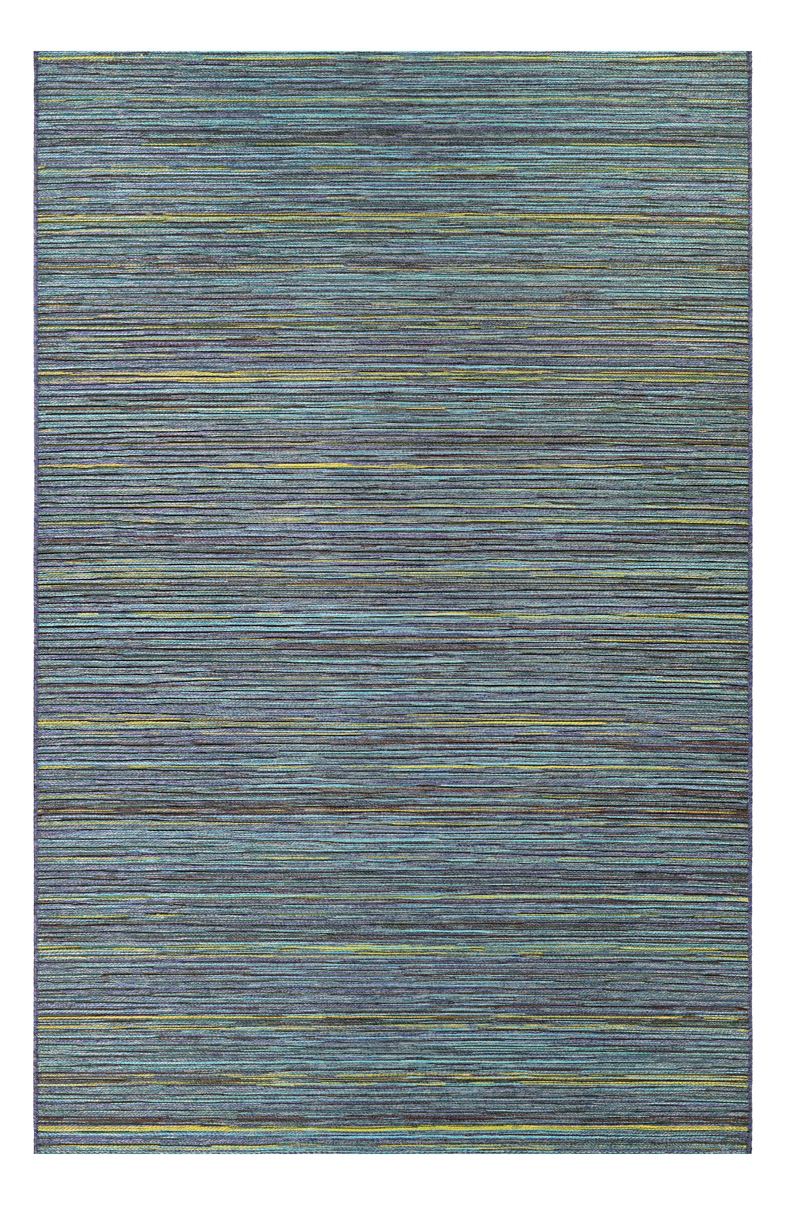 Hinsdale Indoor/Outdoor Rug,                         Main,                         color, Teal/ Cobalt