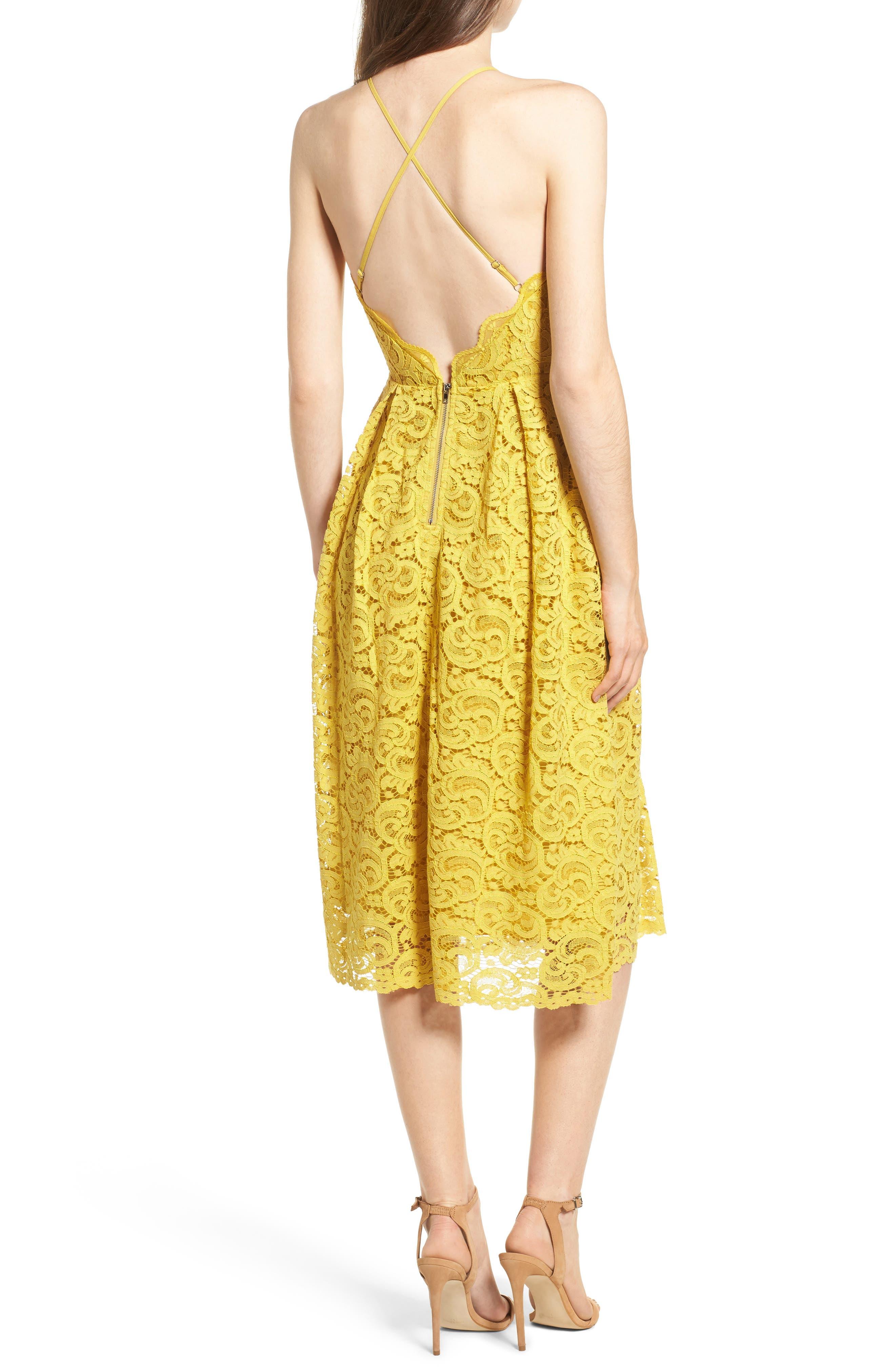 Alternate Image 2  - J.O.A. Lace Midi Dress