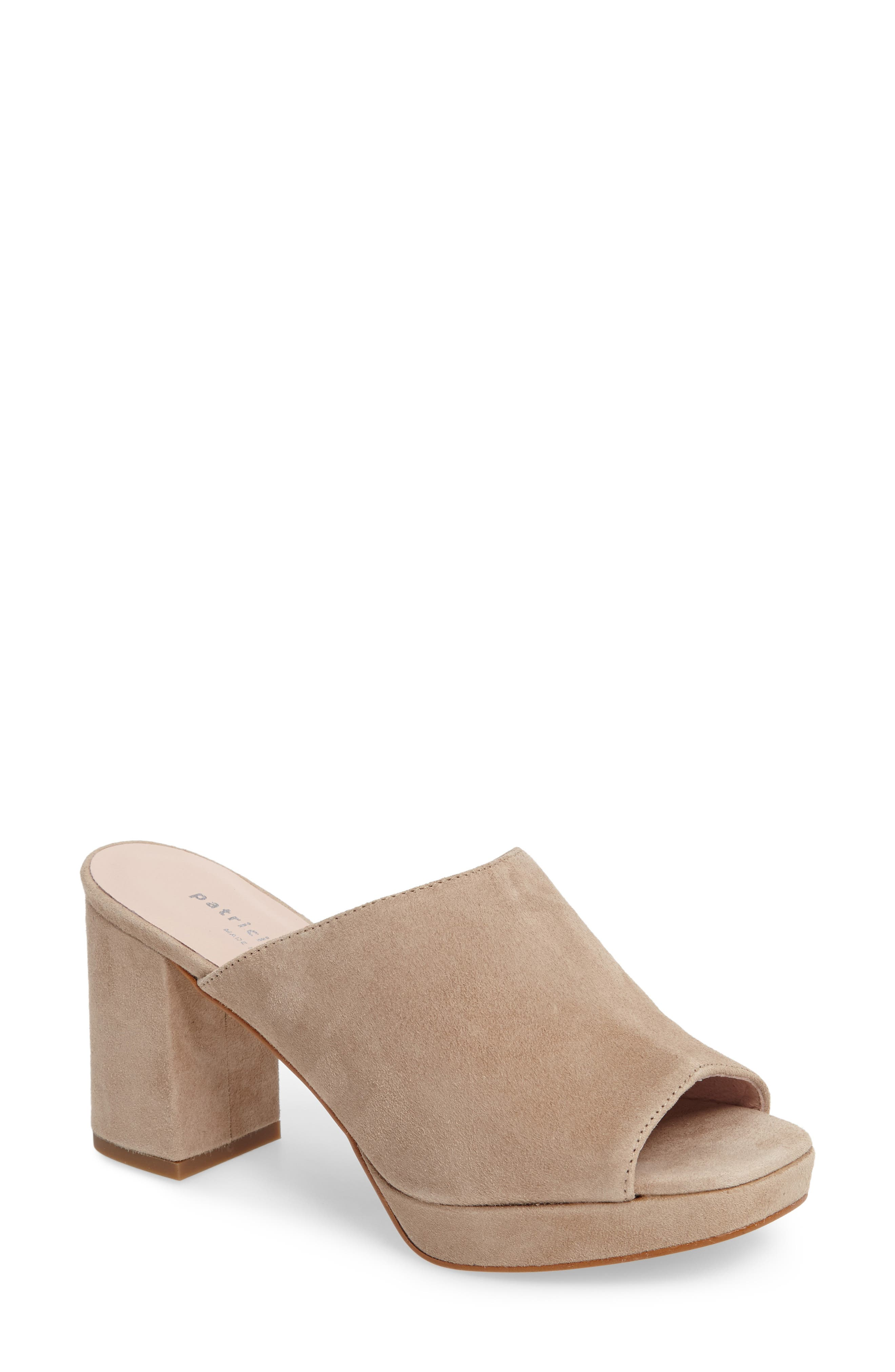 Dylan Mule,                         Main,                         color, Sand Suede