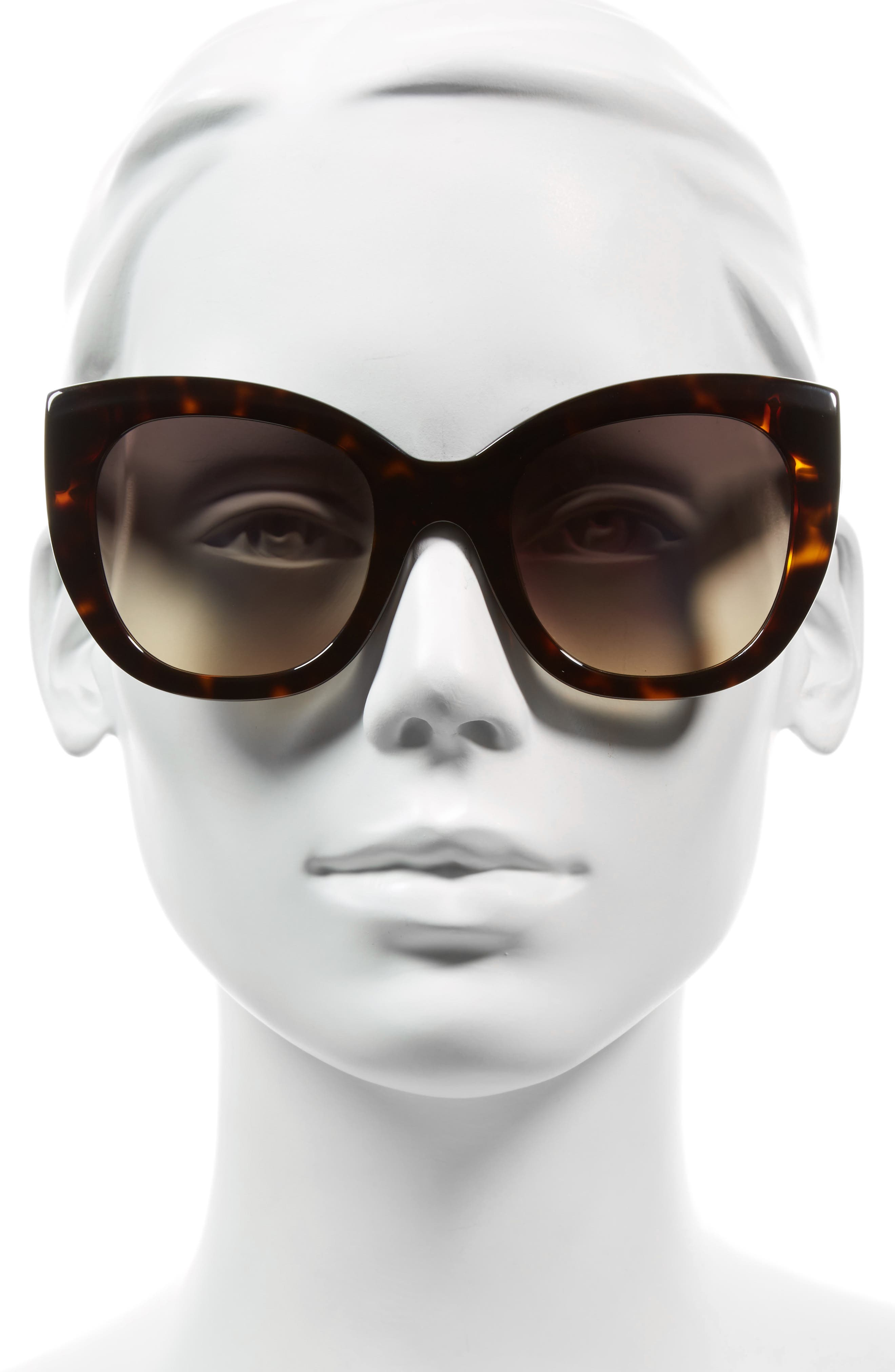 Alternate Image 2  - Alice + Olivia Mercer 52mm Cat Eye Sunglasses