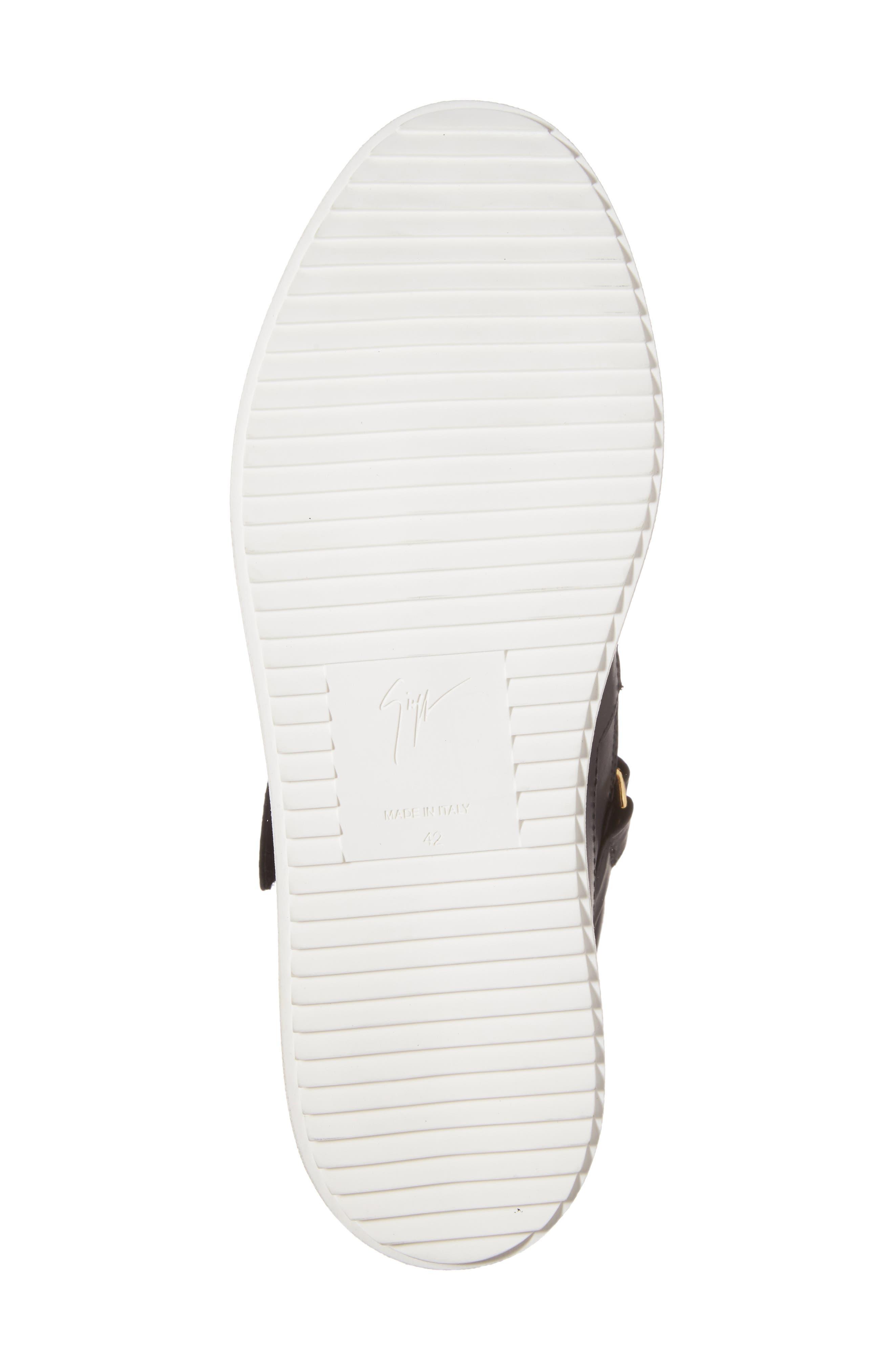 Alternate Image 6  - Giuseppe Zanotti Mid Top Sneaker (Men)
