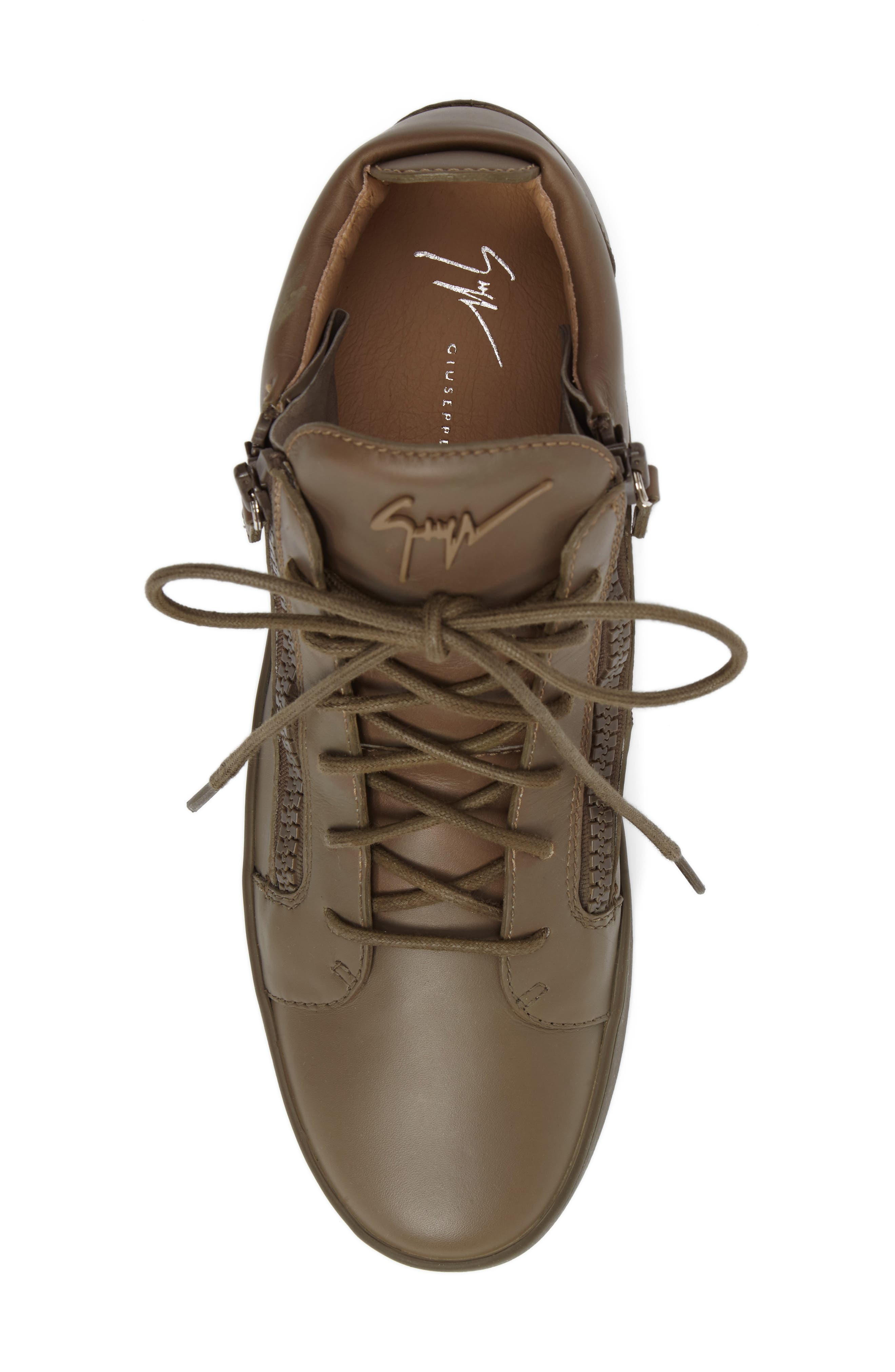 Alternate Image 5  - Giuseppe Zanotti Mid Top Sneaker (Men)