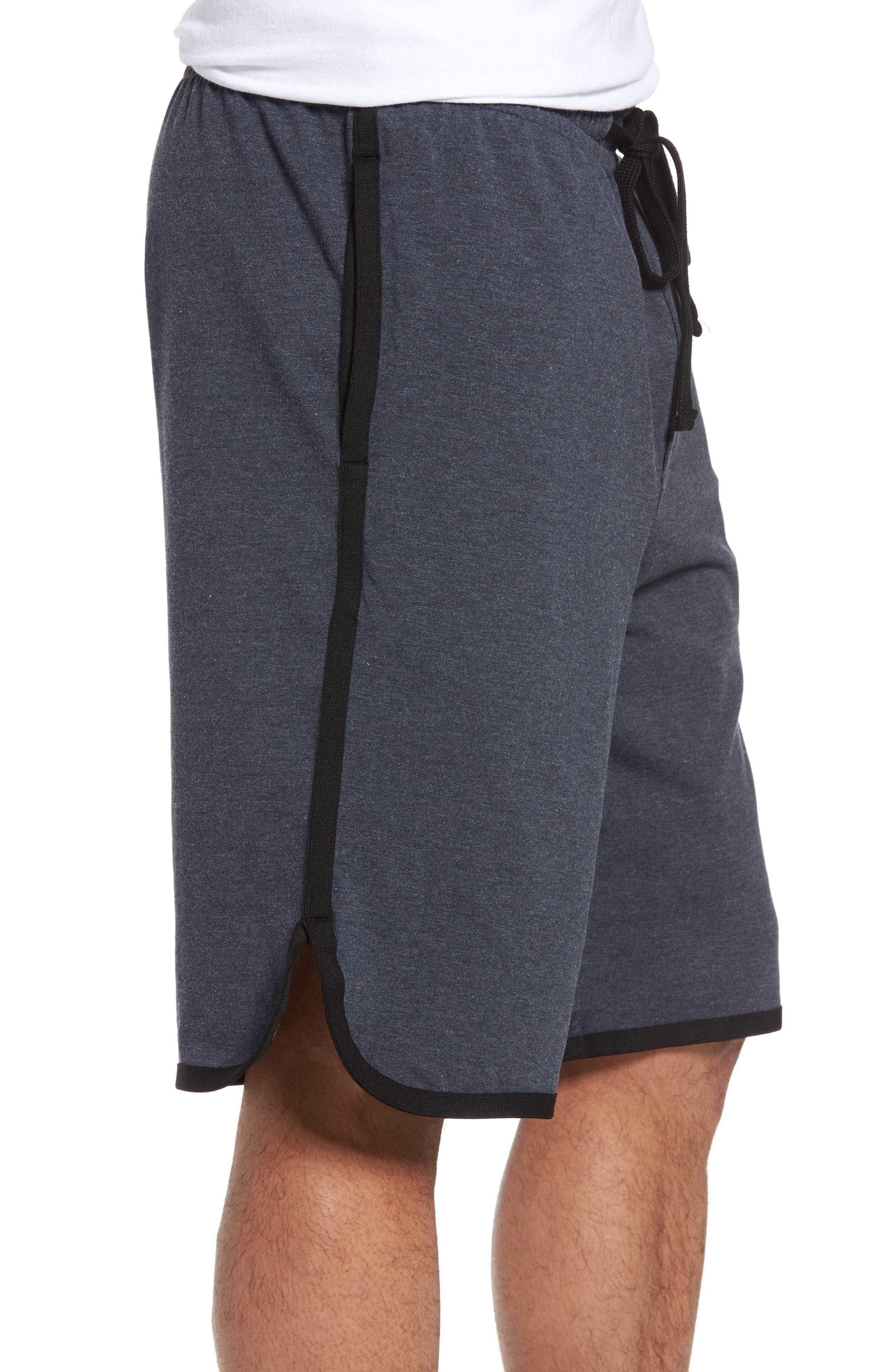 Drawstring Basketball Shorts,                             Alternate thumbnail 3, color,                             Deep