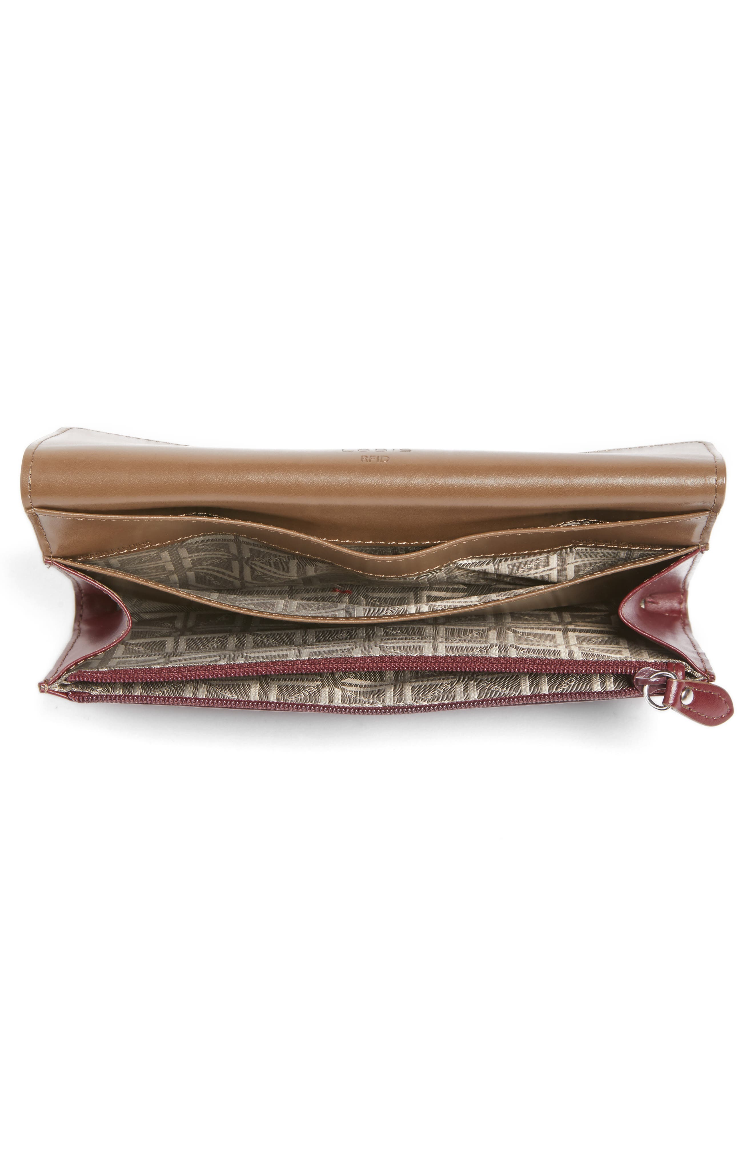Alternate Image 2  - Lodis Audrey - Cami RFID Leather Clutch Wallet