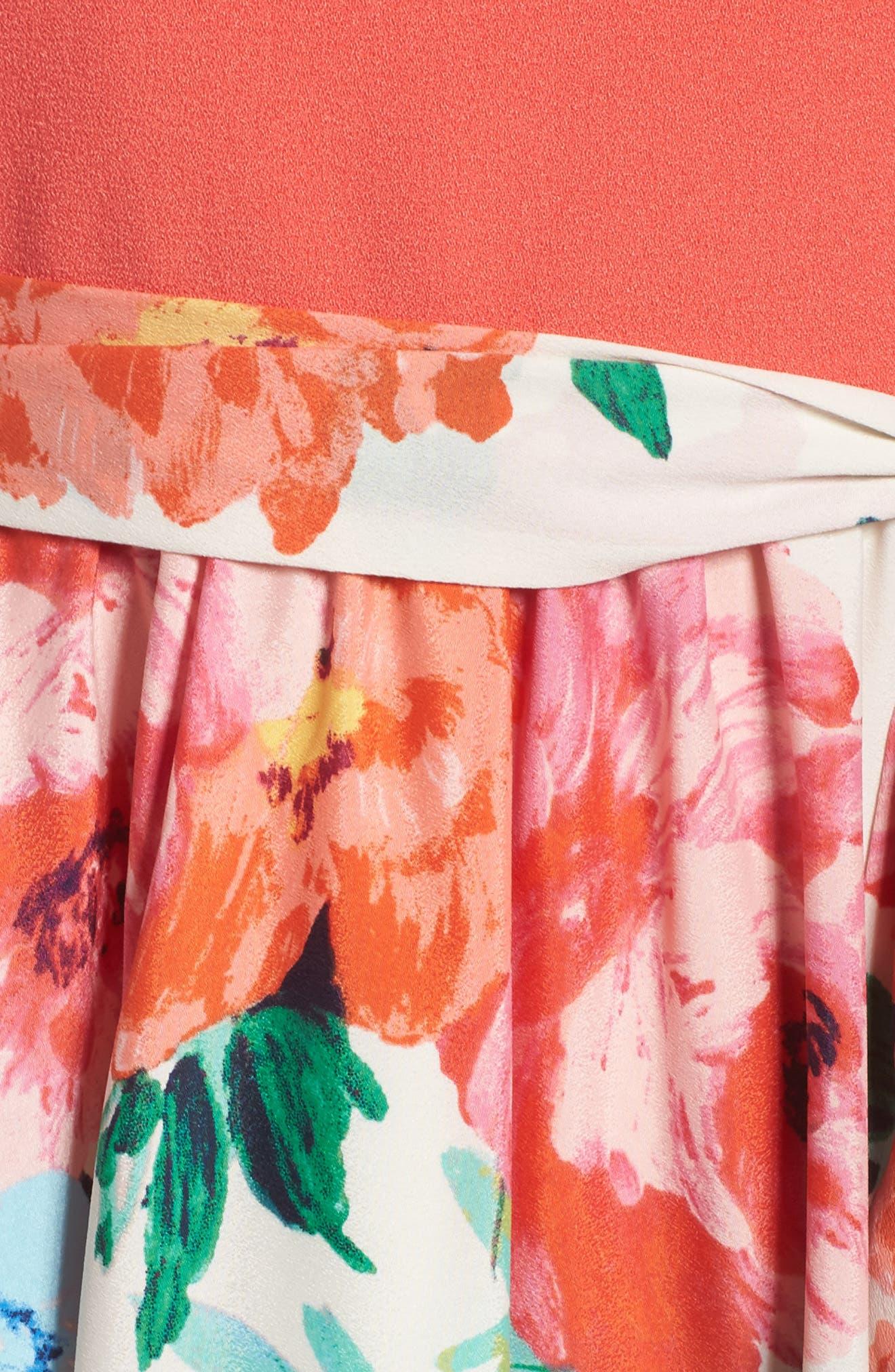 Alternate Image 5  - Eliza J Crepe Maxi Dress