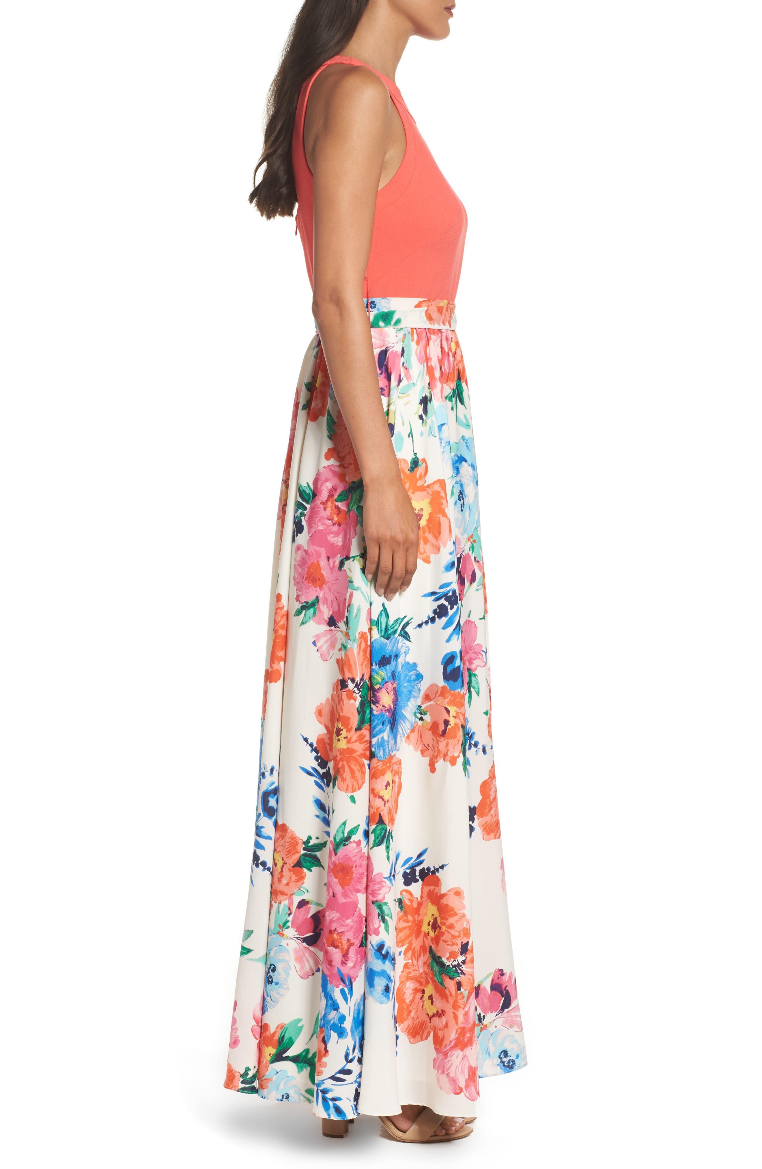 Alternate Image 3  - Eliza J Crepe Maxi Dress