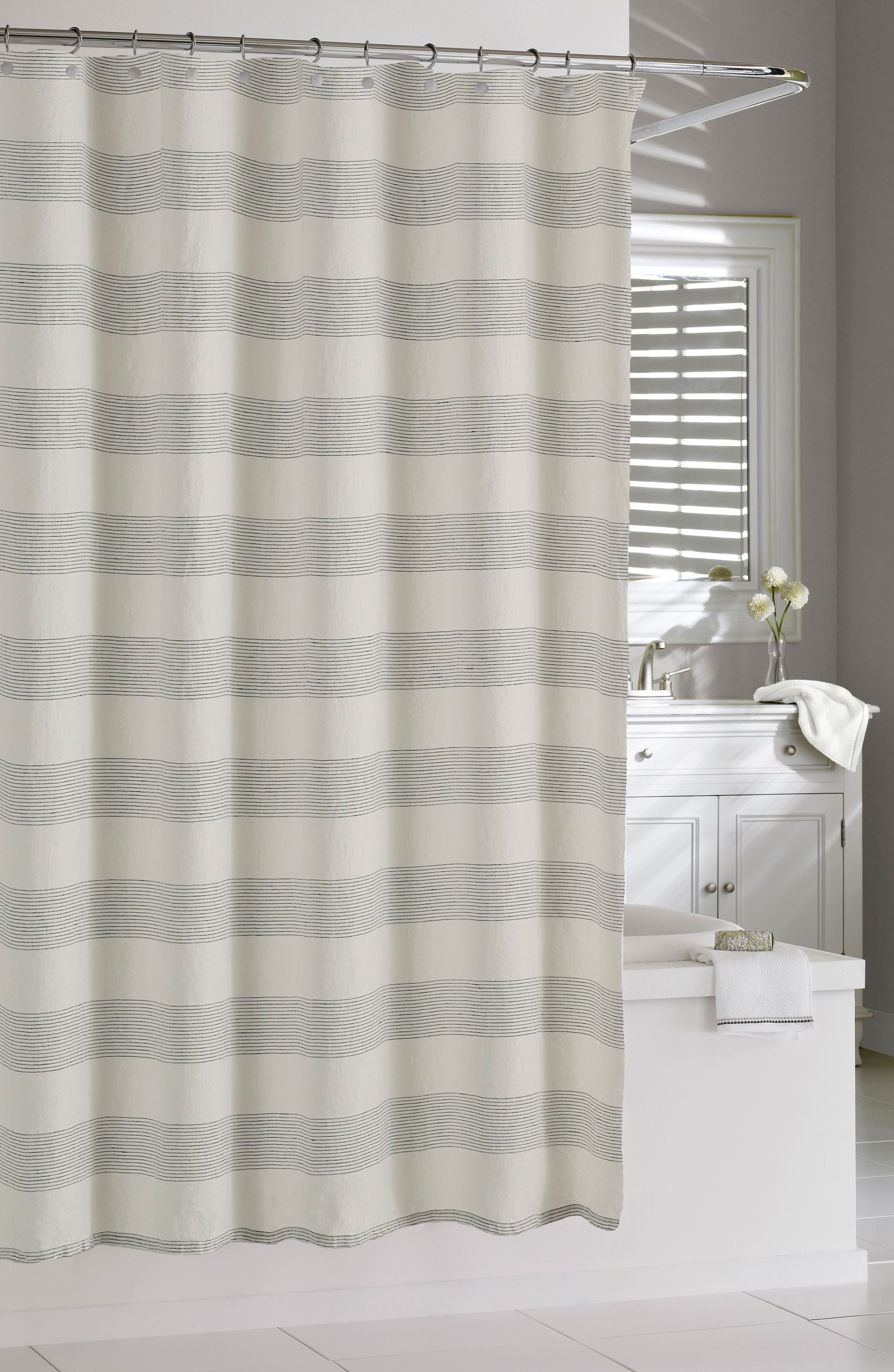 gray and black shower curtain.  Shower Curtains Nordstrom