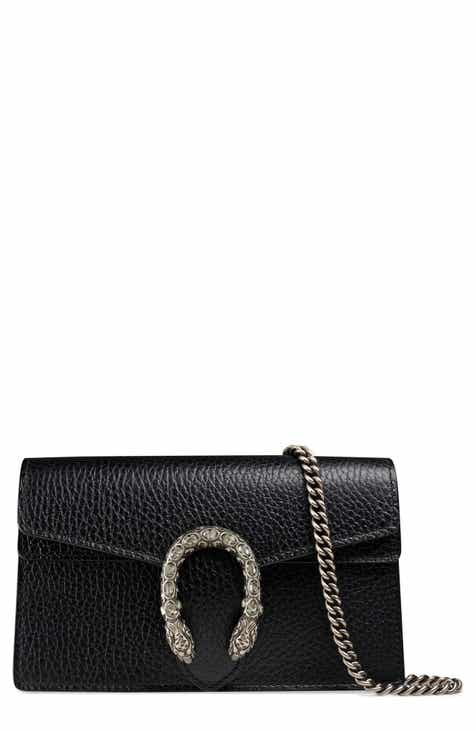 34c8e174cab Gucci Super Mini Dionysus Leather Shoulder Bag
