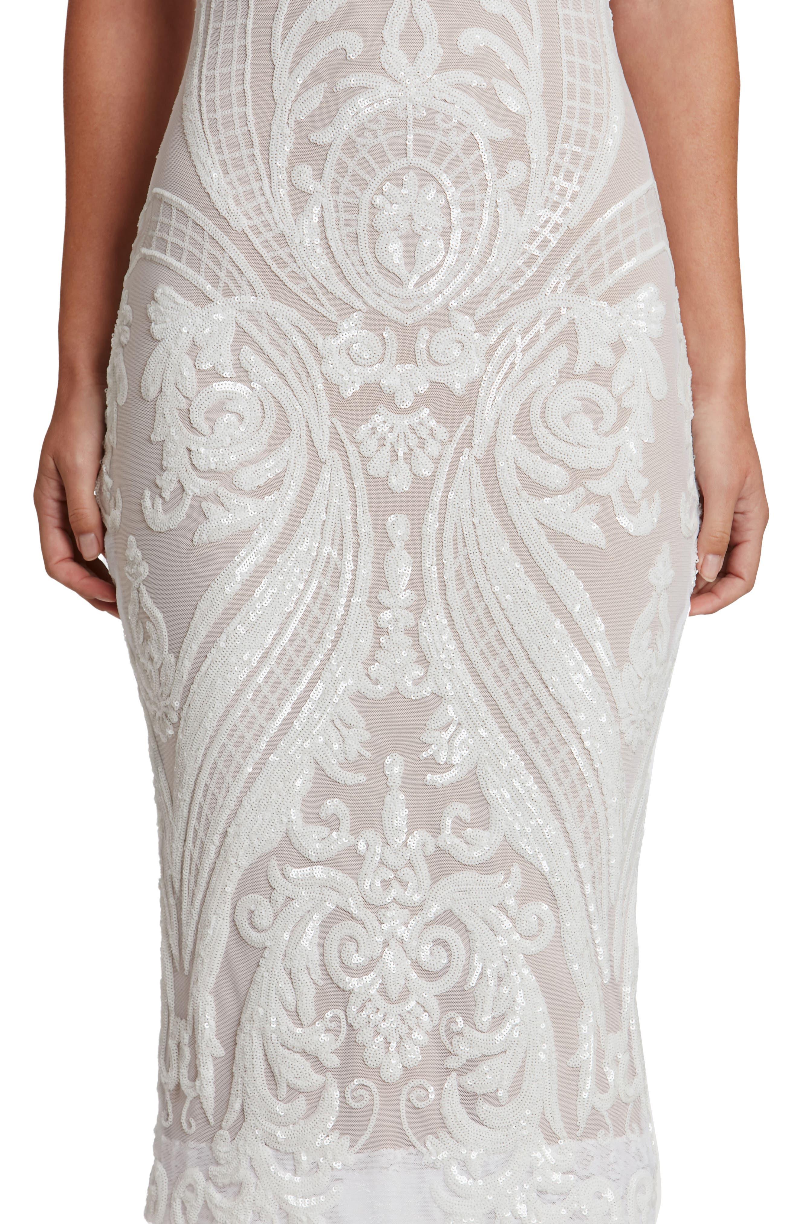 Alternate Image 5  - Dress the Population Brandi Sequin Body-Con Dress