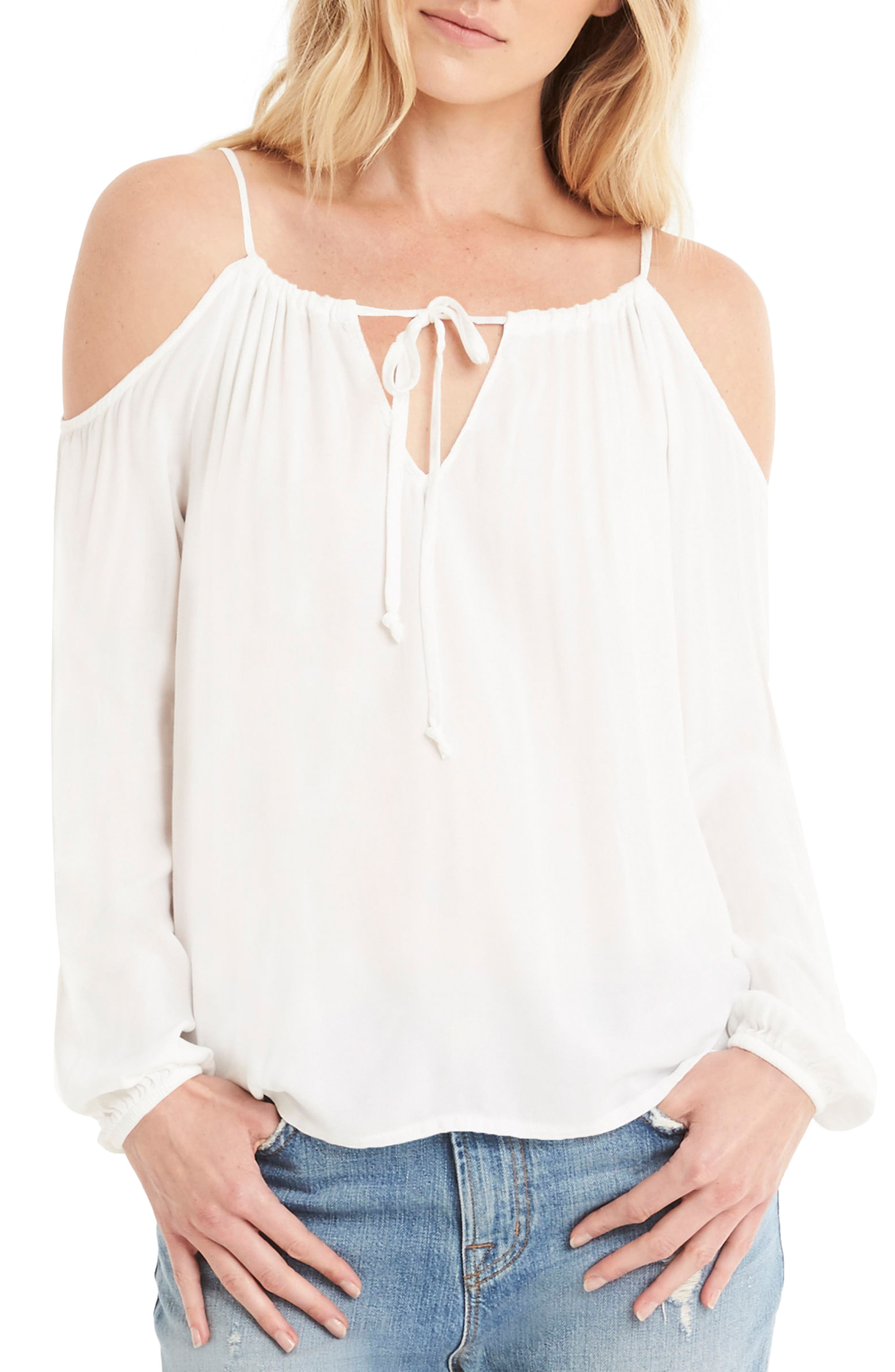 Main Image - Michael Stars Off the Shoulder Top