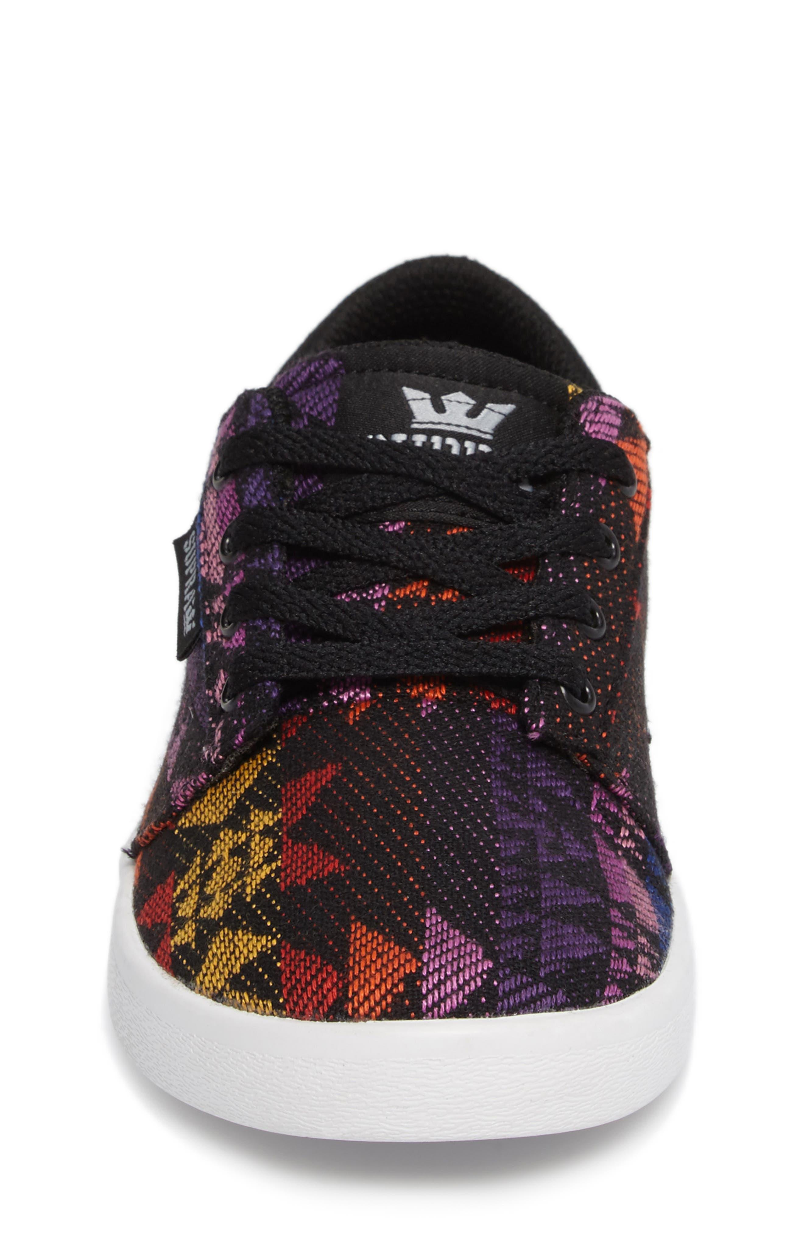 Alternate Image 4  - Supra Yorek Low Top Sneaker (Toddler, Little Kid & Big Kid)