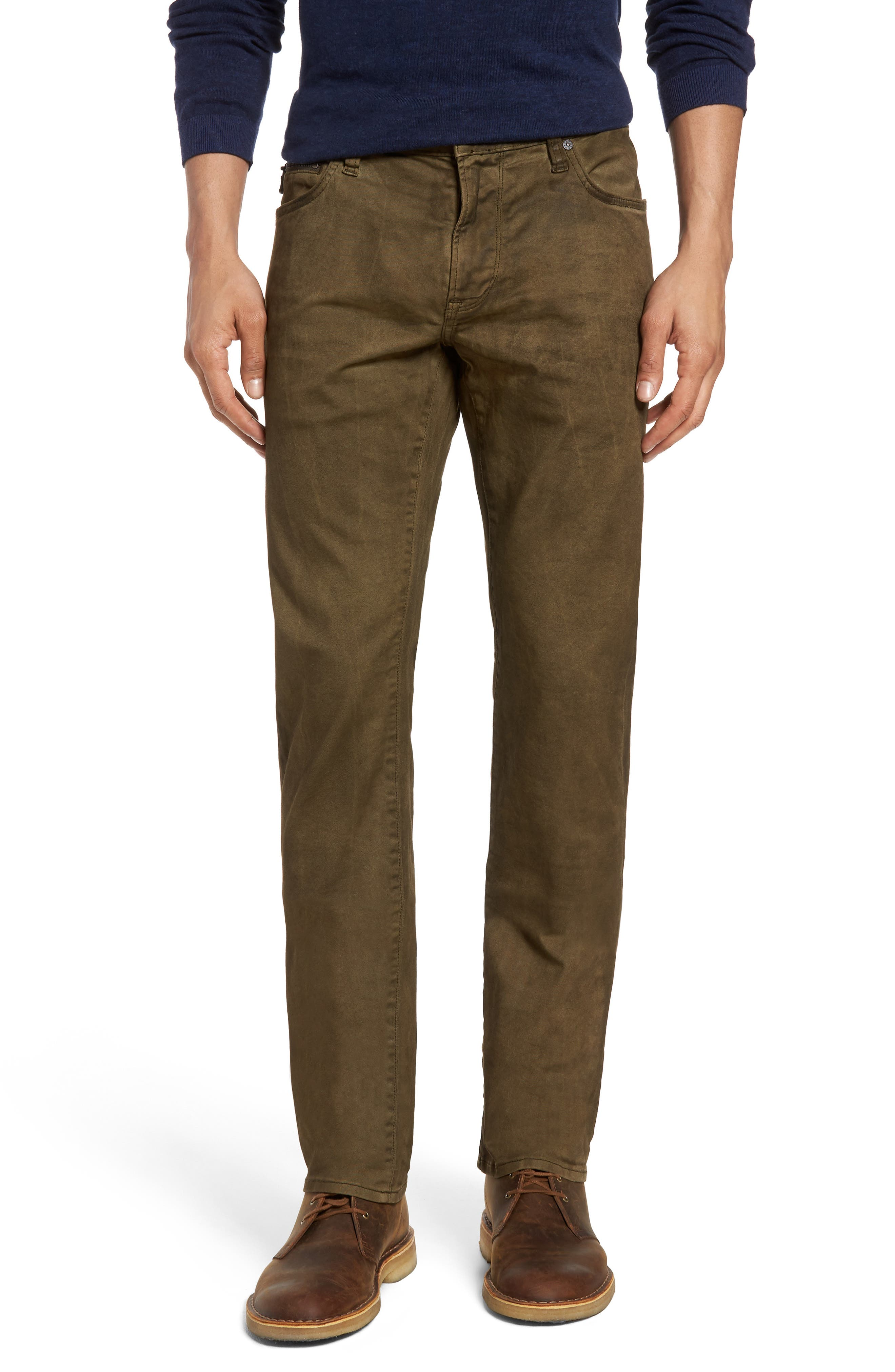 Main Image - John Varvatos Star USA Wight Skinny Jeans