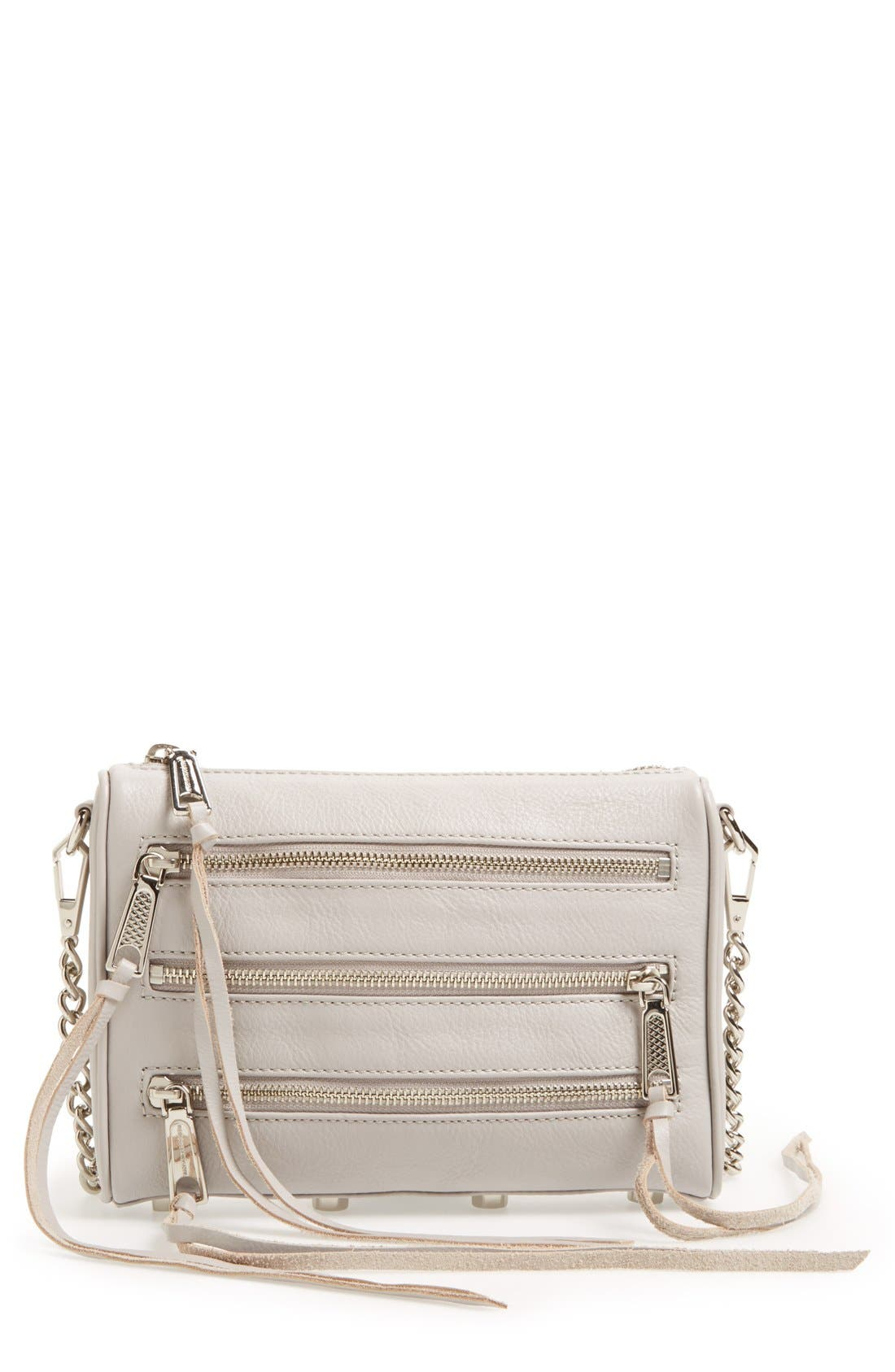 Alternate Image 1 Selected - Rebecca Minkoff Mini 5 Zip Convertible Crossbody Bag