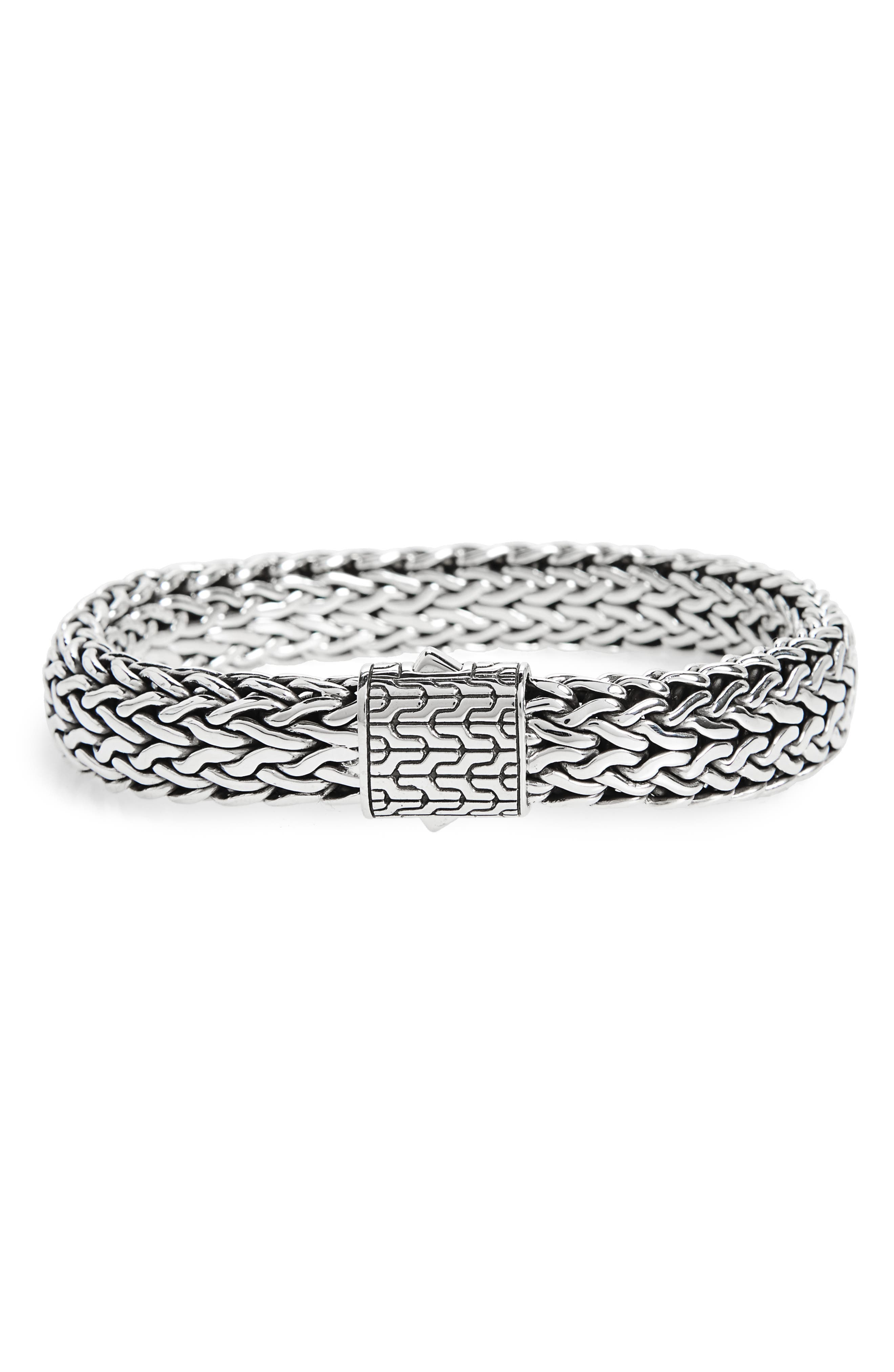 Alternate Image 1 Selected - John Hardy Classic Chain Large Flat Chain Bracelet