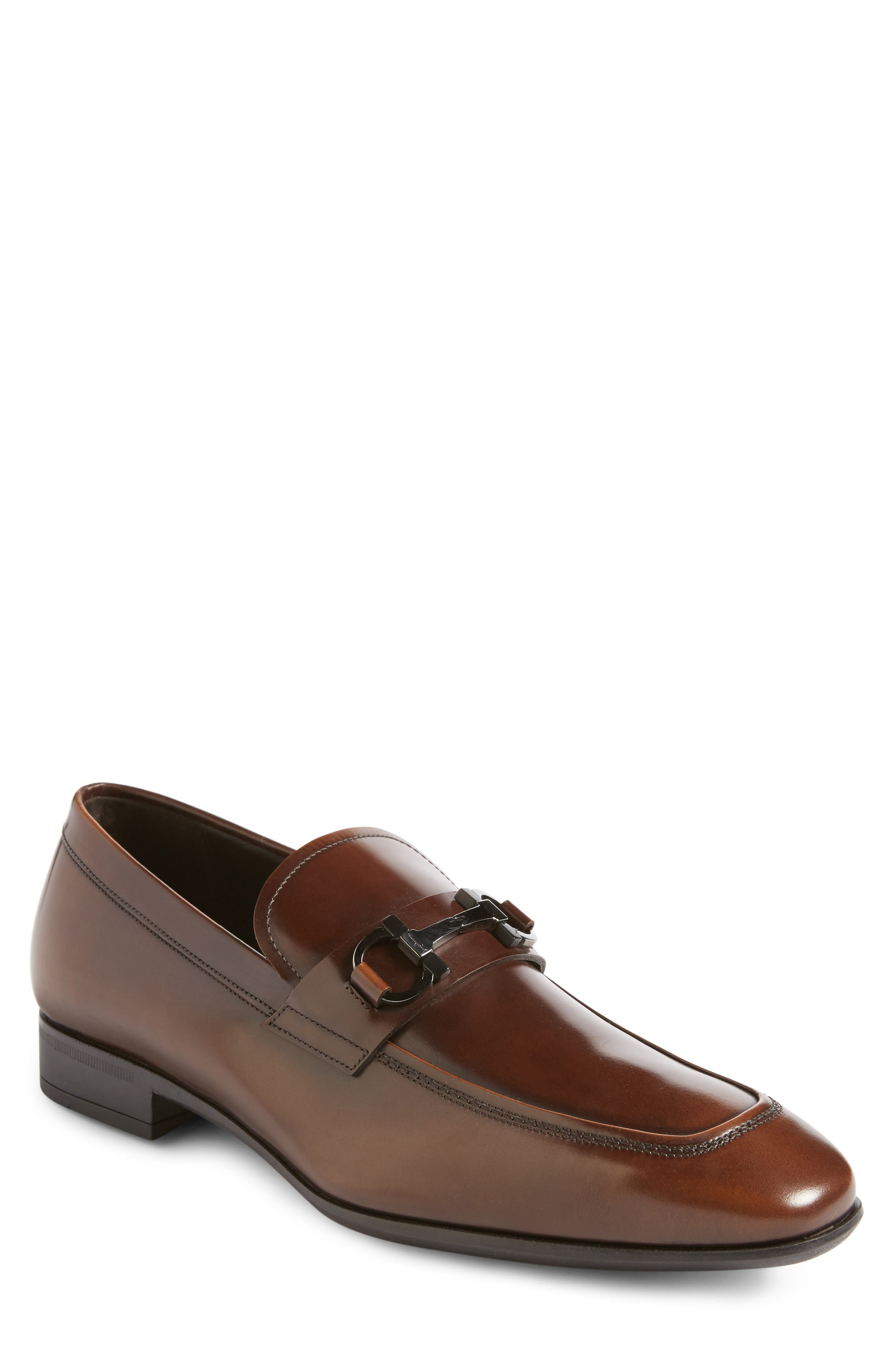 Salvatore Ferragamo Dinamo Bit Loafer (Men)
