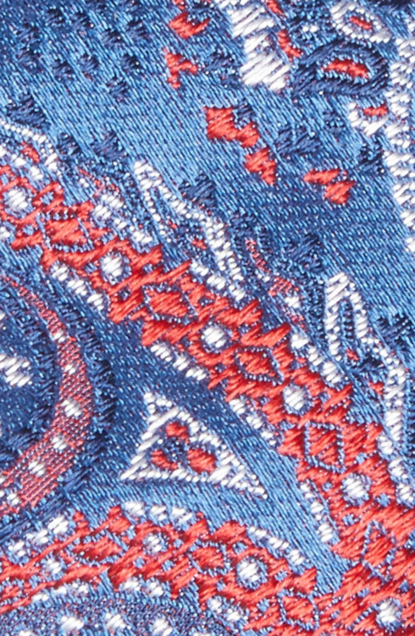 Alternate Image 2  - BOSS Paisley Silk Tie