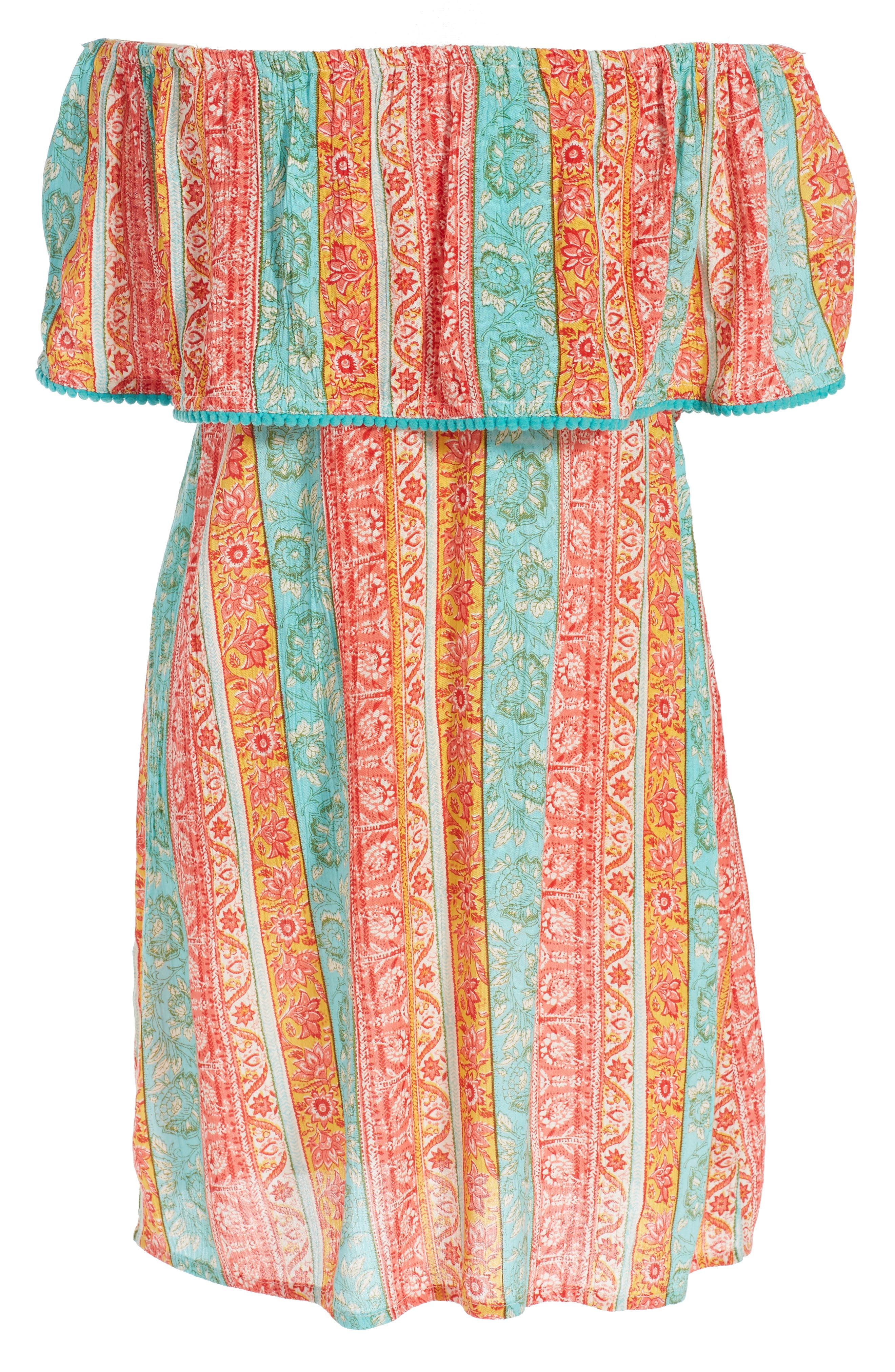 BILLABONG Cabana Ana Off the Shoulder Dress
