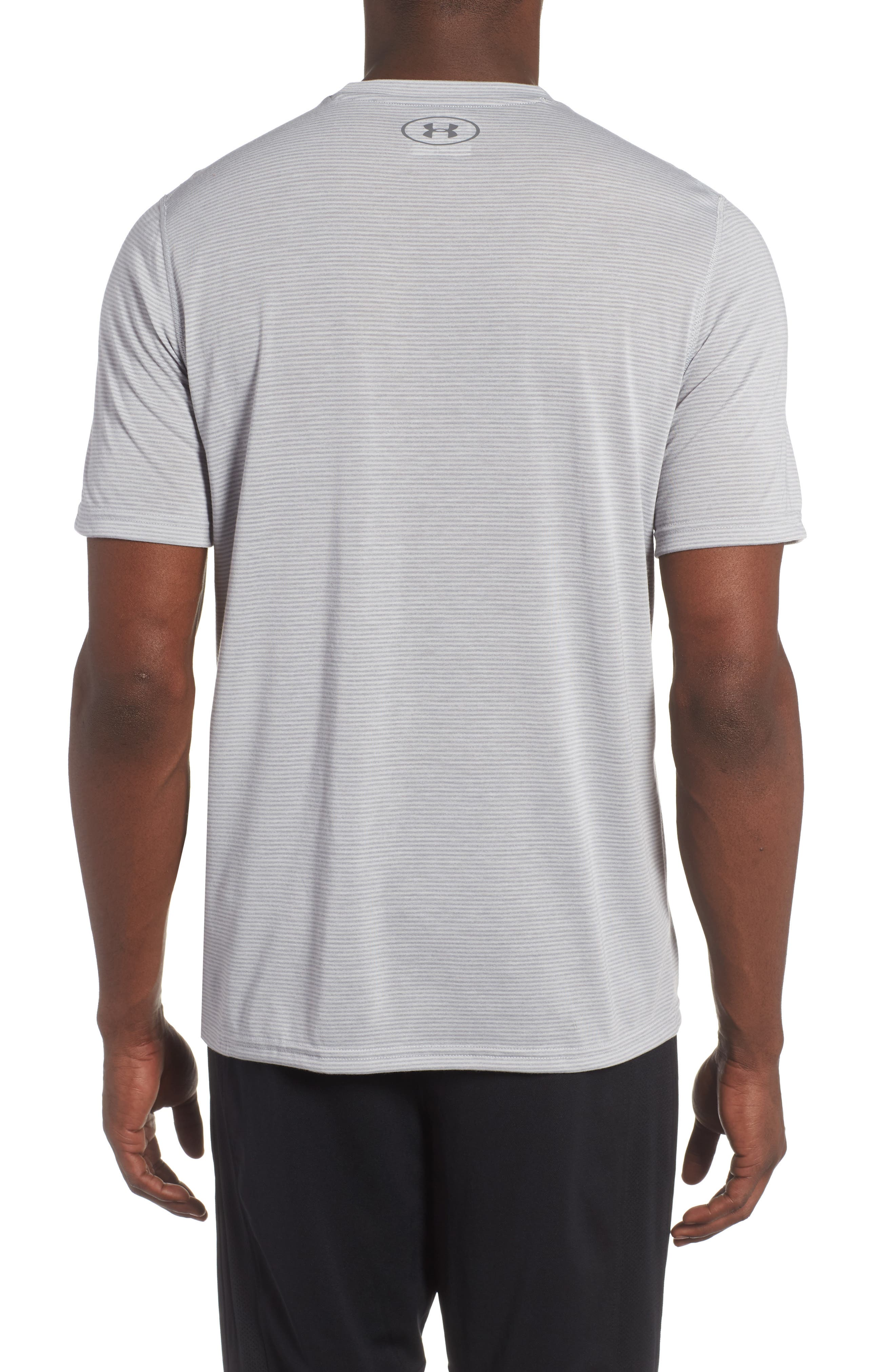 Threadborne Siro Regular Fit T-Shirt,                             Alternate thumbnail 2, color,                             Overcast Gray/ Graphite