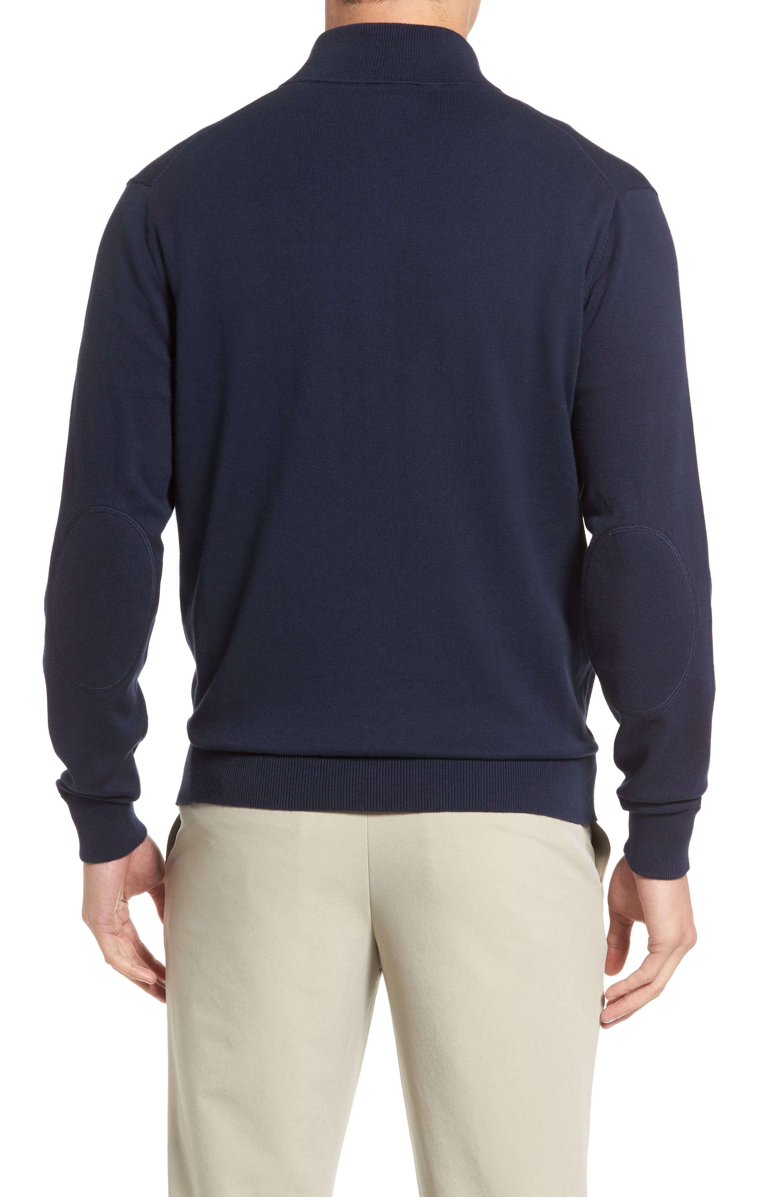 Lakemont Half Zip Sweater,                             Alternate thumbnail 2, color,                             Liberty Navy