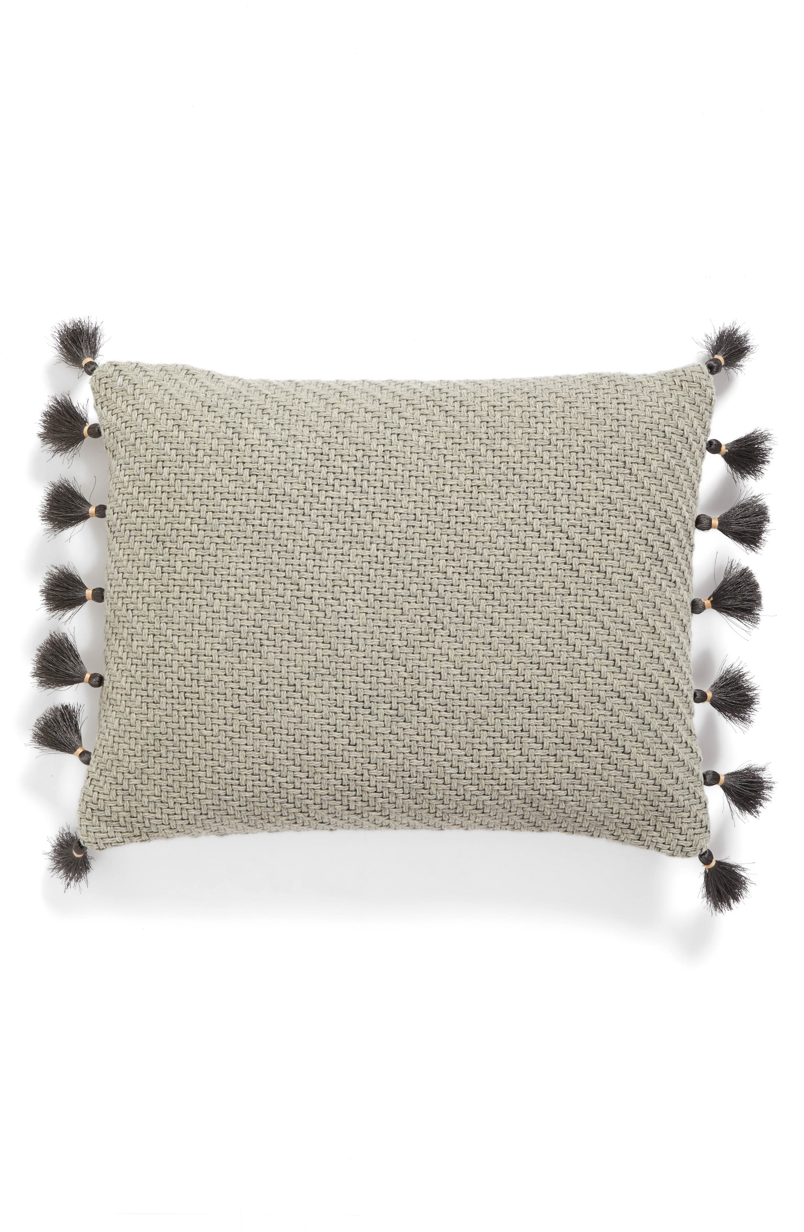 Alternate Image 2  - Levtex Matmi Tassels Accent Pillow