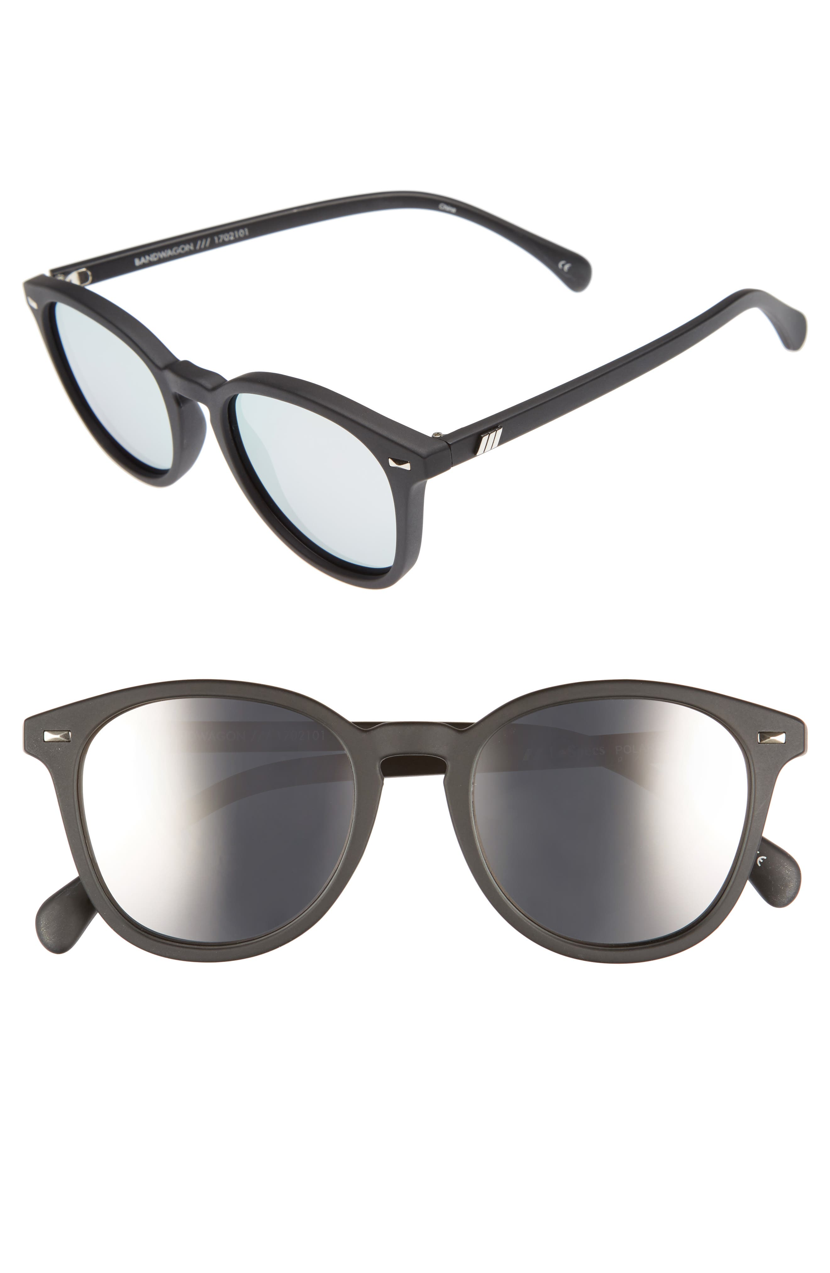 Le Specs Bandwagon 51mm Polarized Sunglasses