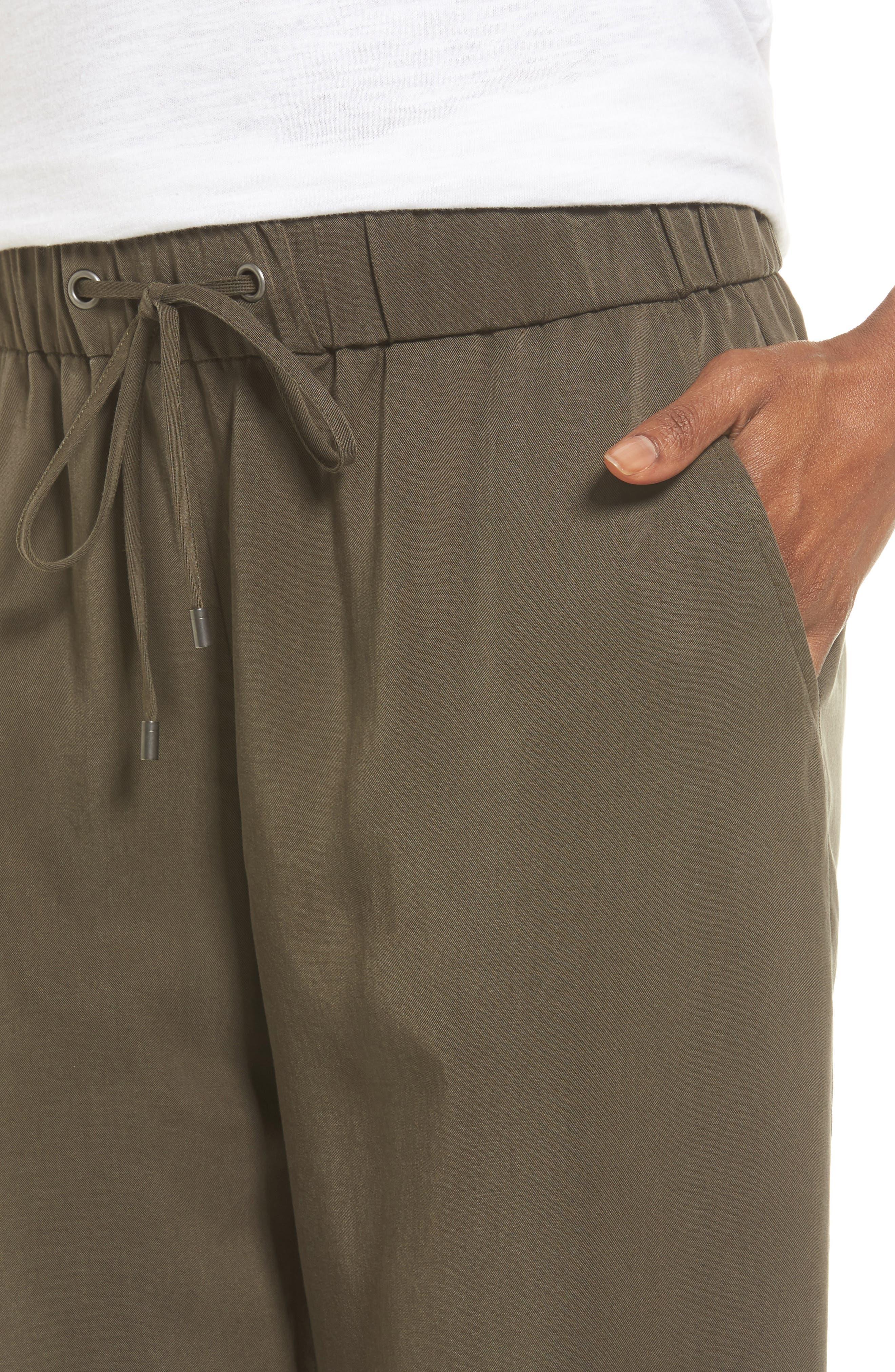 Alternate Image 4  - Eileen Fisher Tencel® Drawstring Ankle Pants