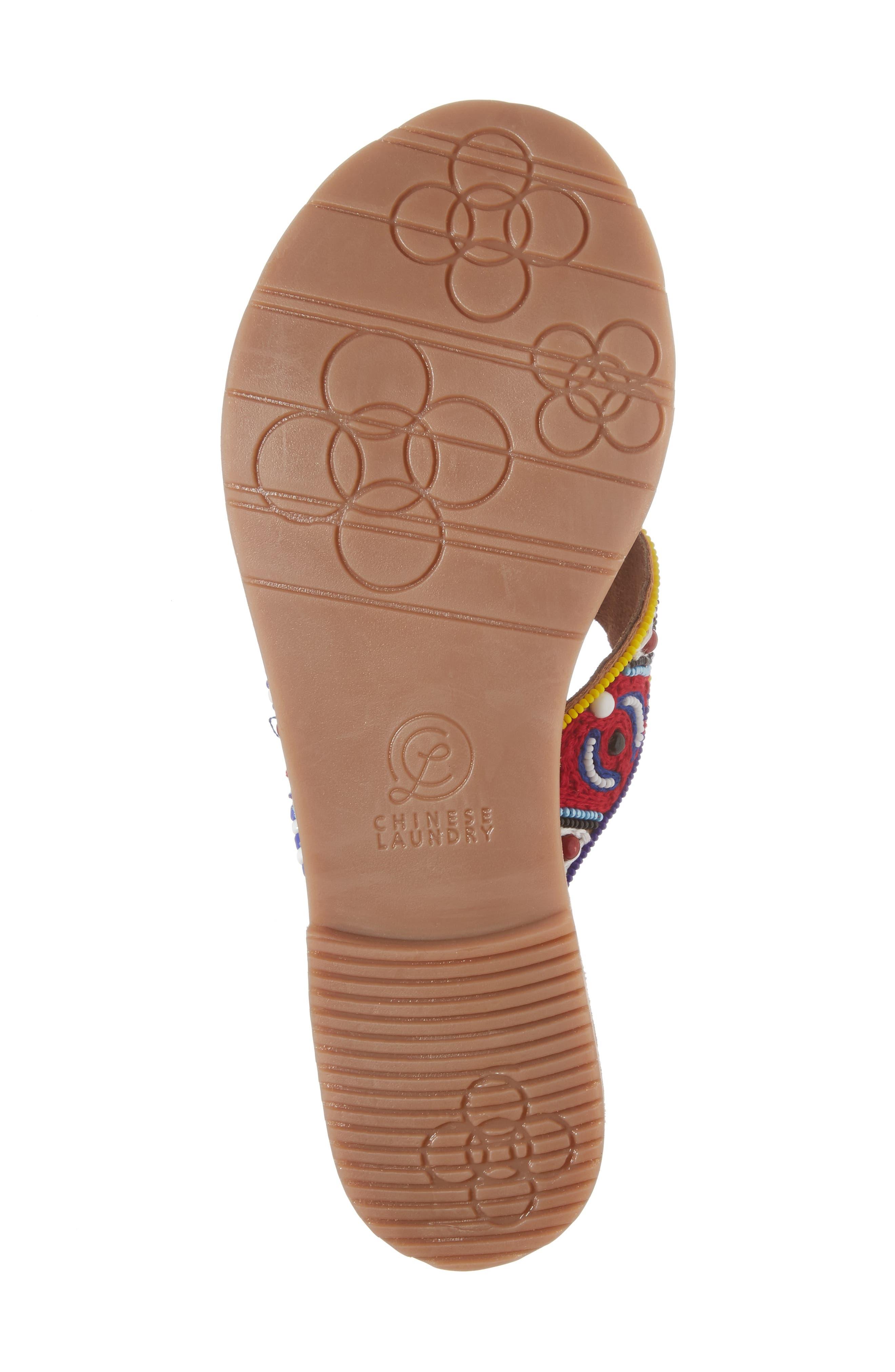 Purfect Slide Sandal,                             Alternate thumbnail 6, color,                             Cognac