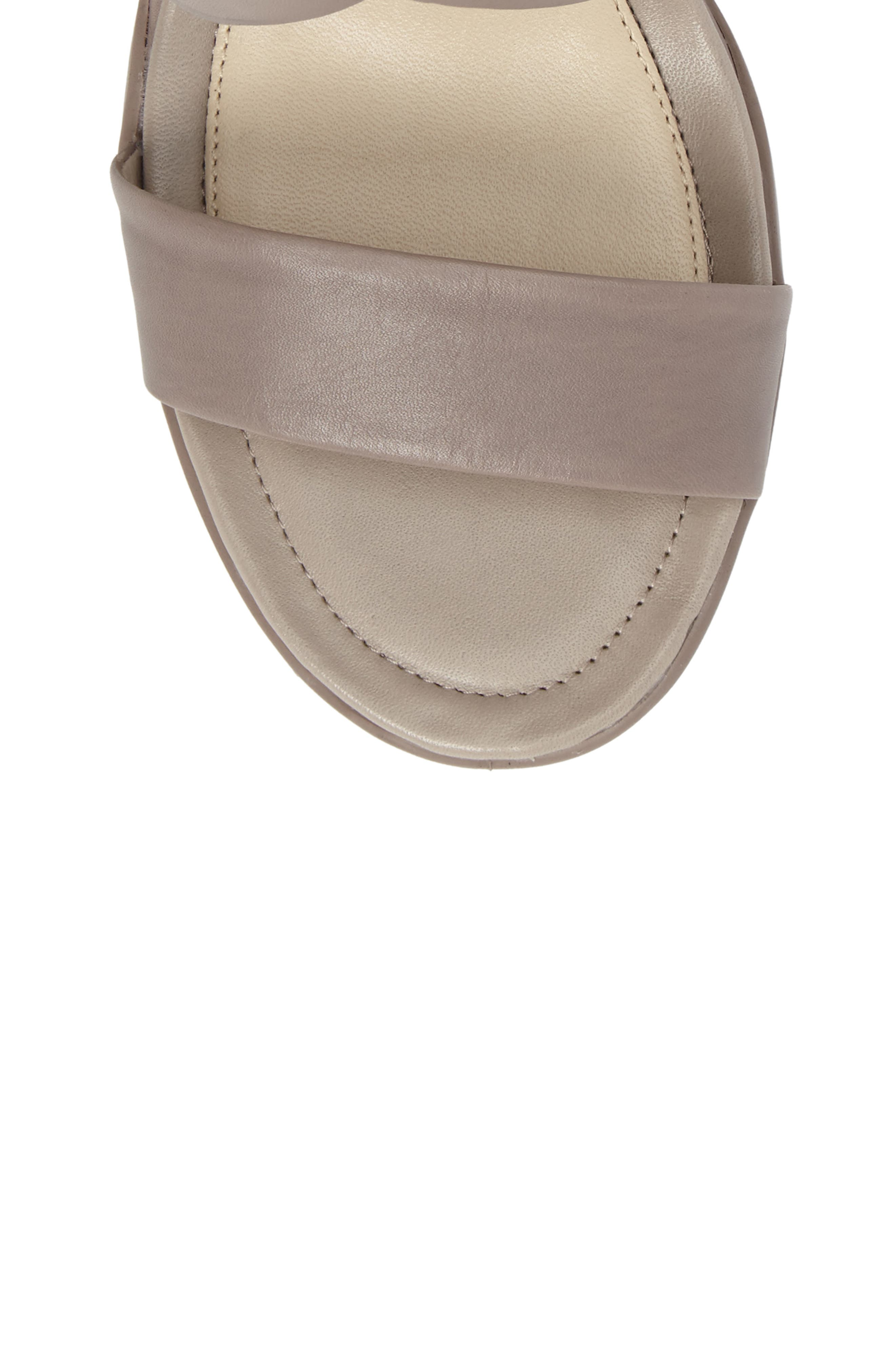 Touch 65 Sandal,                             Alternate thumbnail 5, color,                             Moon Rock Leather