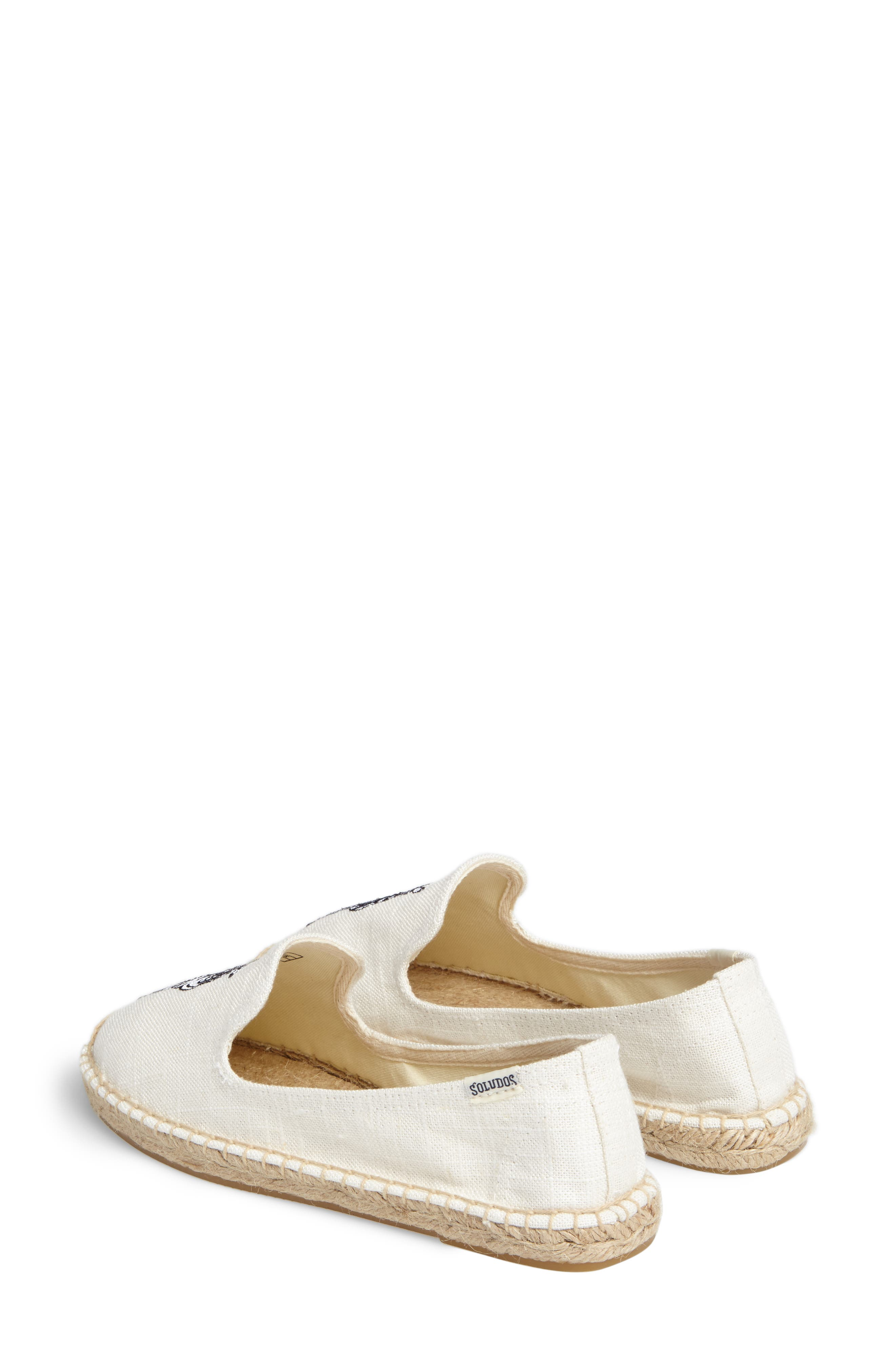 Alternate Image 3  - Soludos Embroidered Espadrille Slip-On (Women)
