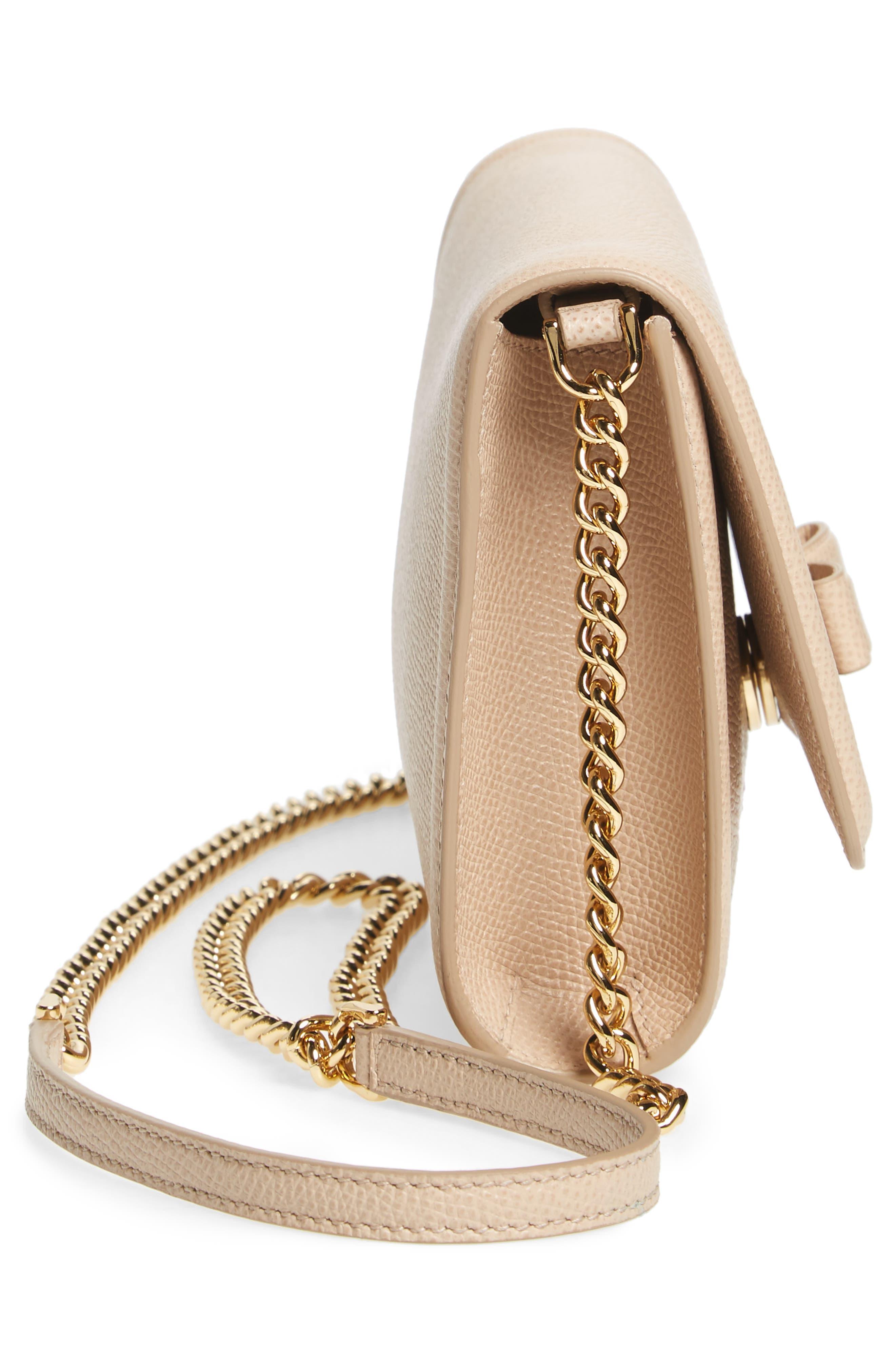 Alternate Image 5  - Salvatore Ferragamo Mini Vara Leather Crossbody Bag