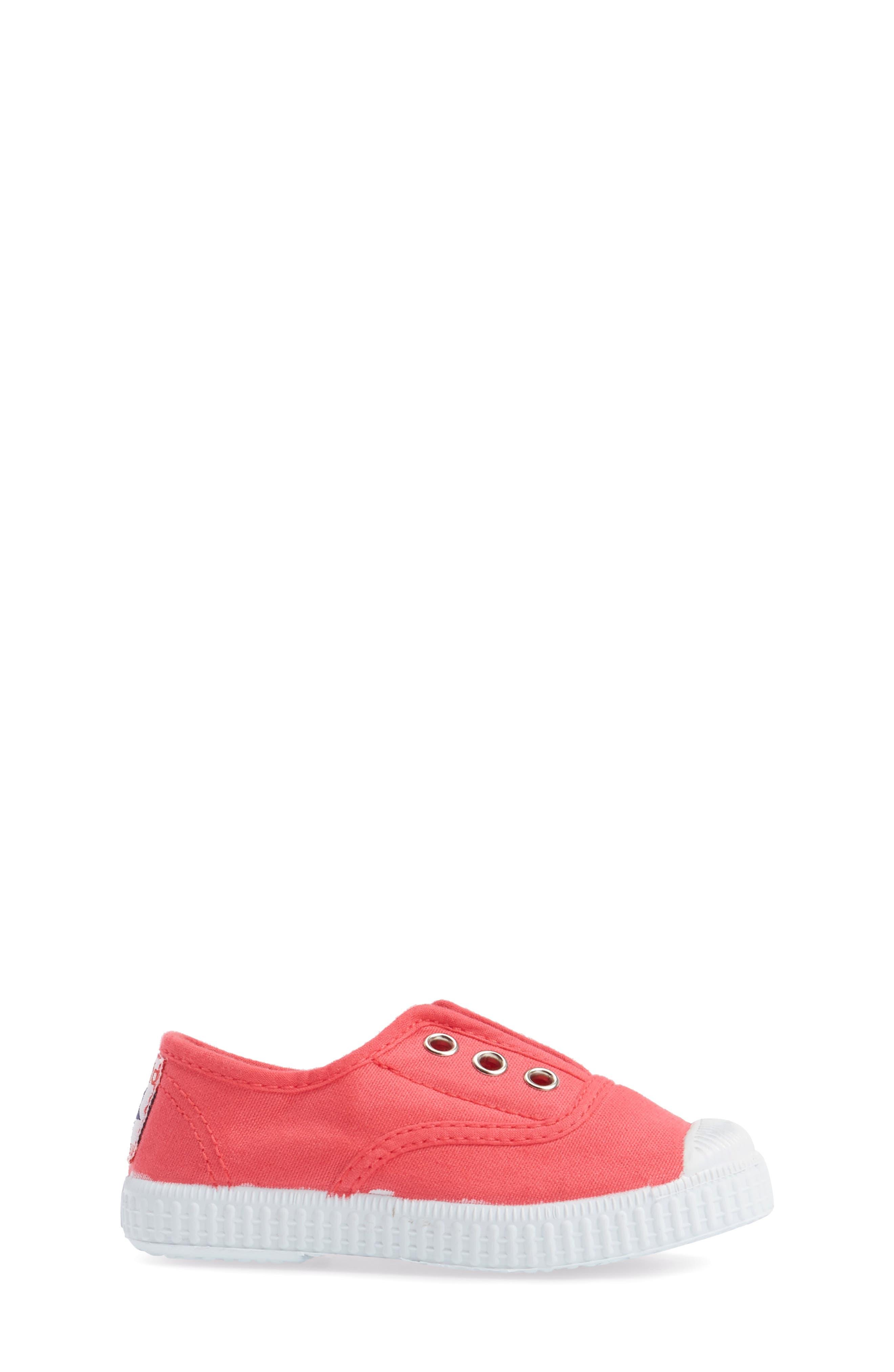 Alternate Image 3  - Cienta Laceless Slip-On Sneaker (Walker & Toddler)