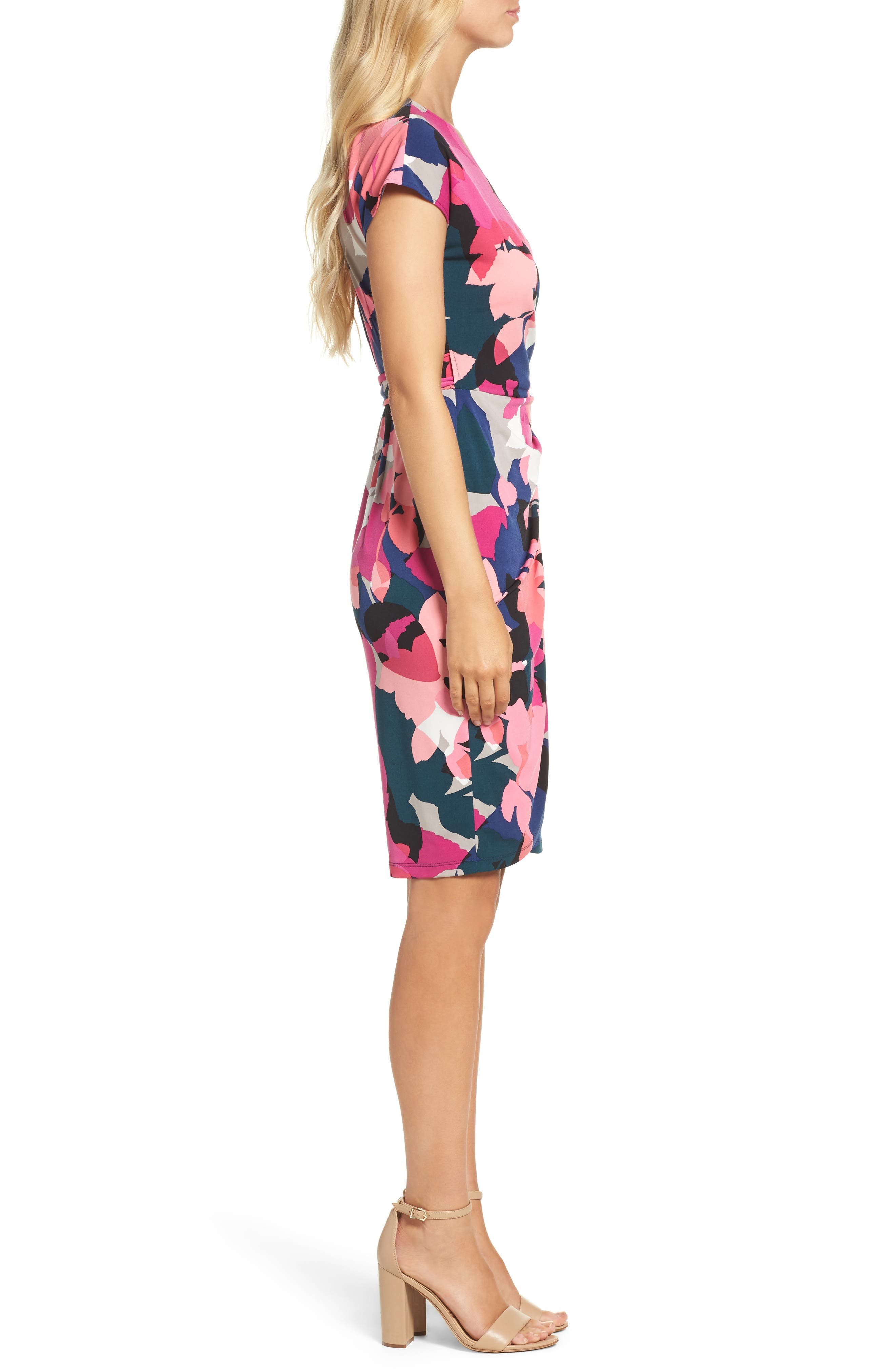 Alternate Image 3  - Maggy London Jersey Wrap Dress (Regular & Petite)