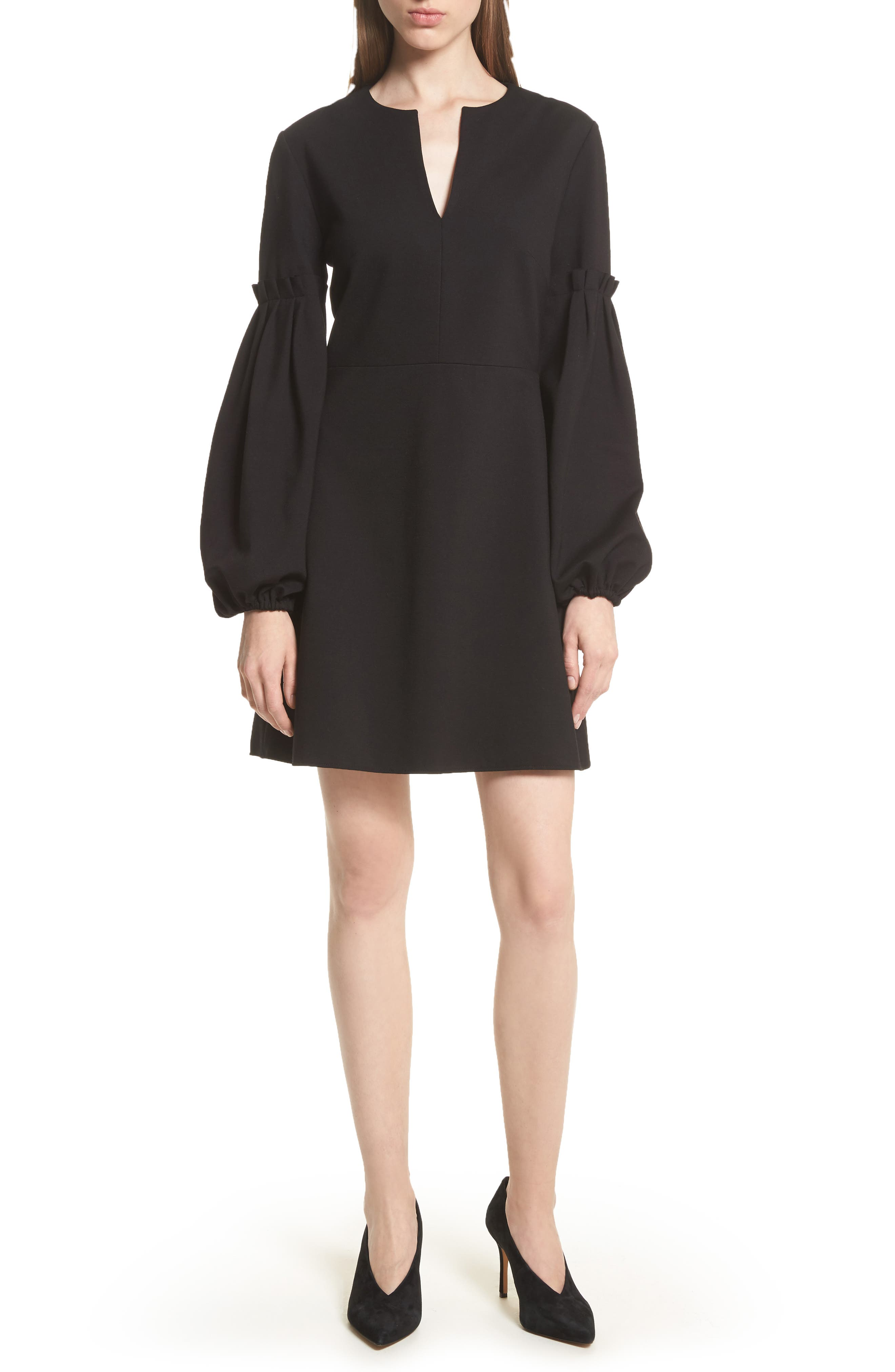 TIBI Bishop Sleeve Dress