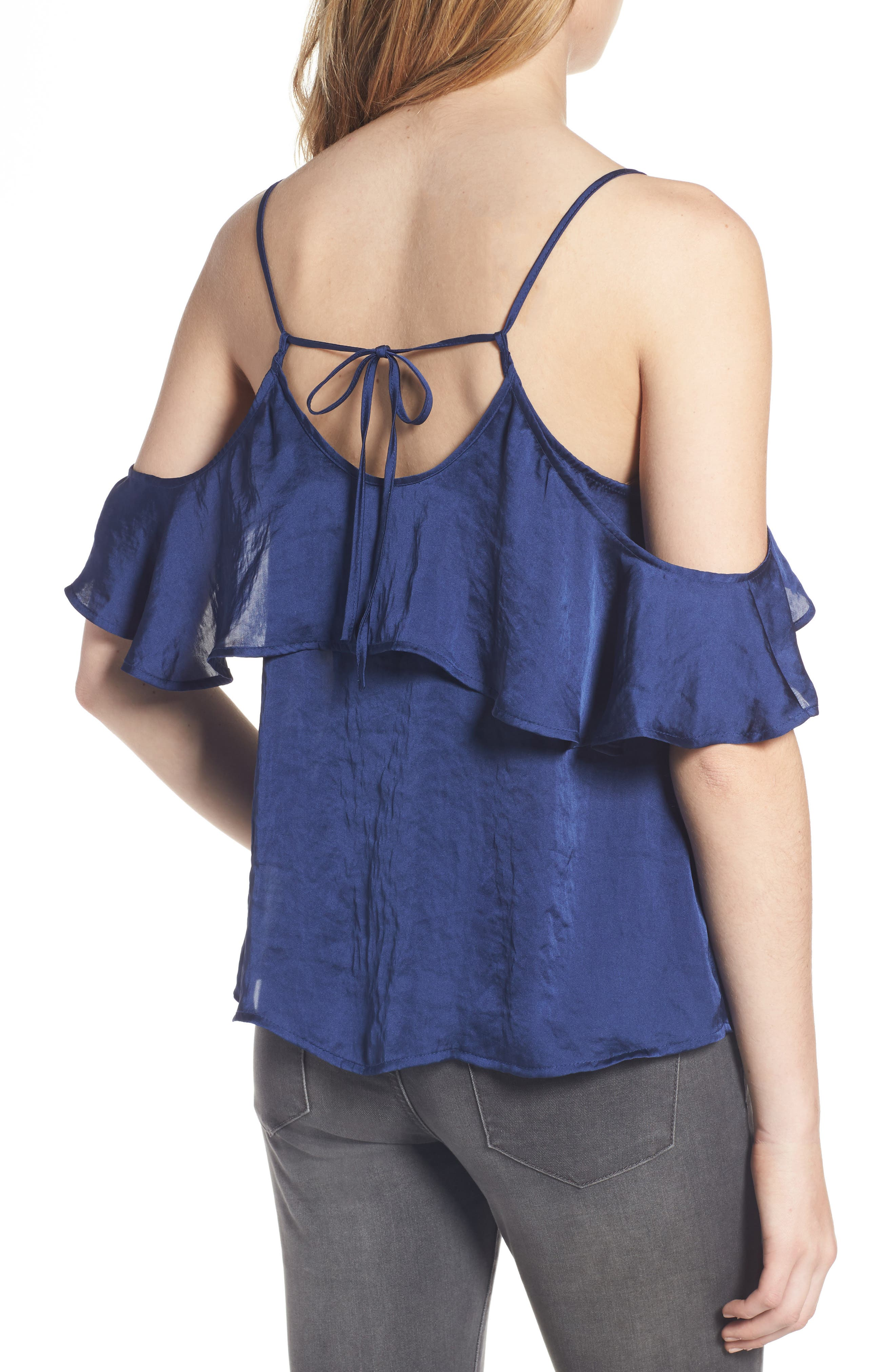 Alternate Image 2  - BP. Drape Ruffle Camisole