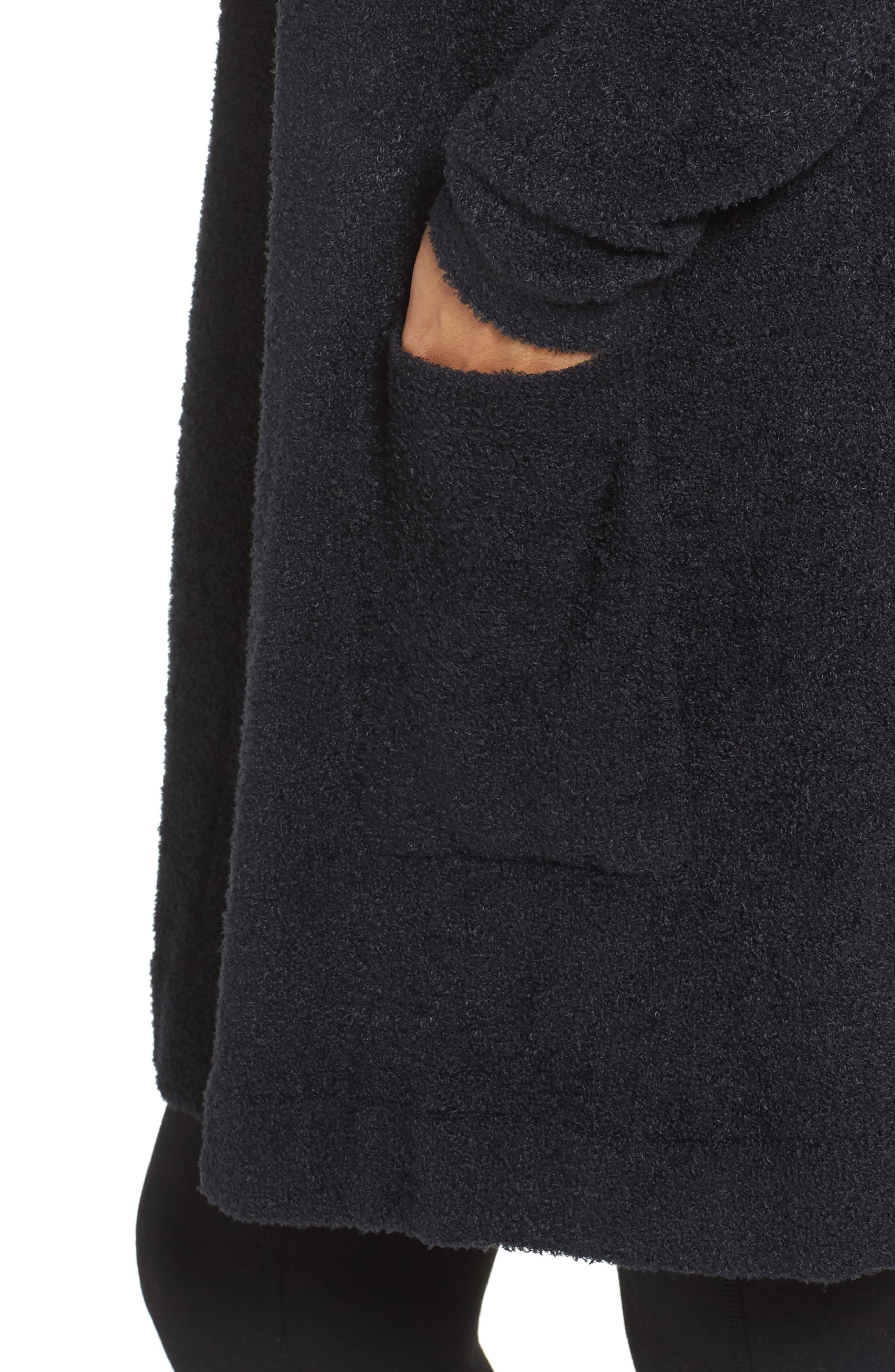 Alternate Image 5  - Barefoot Dreams® Cozychic Lite® Coastal Hooded Cardigan